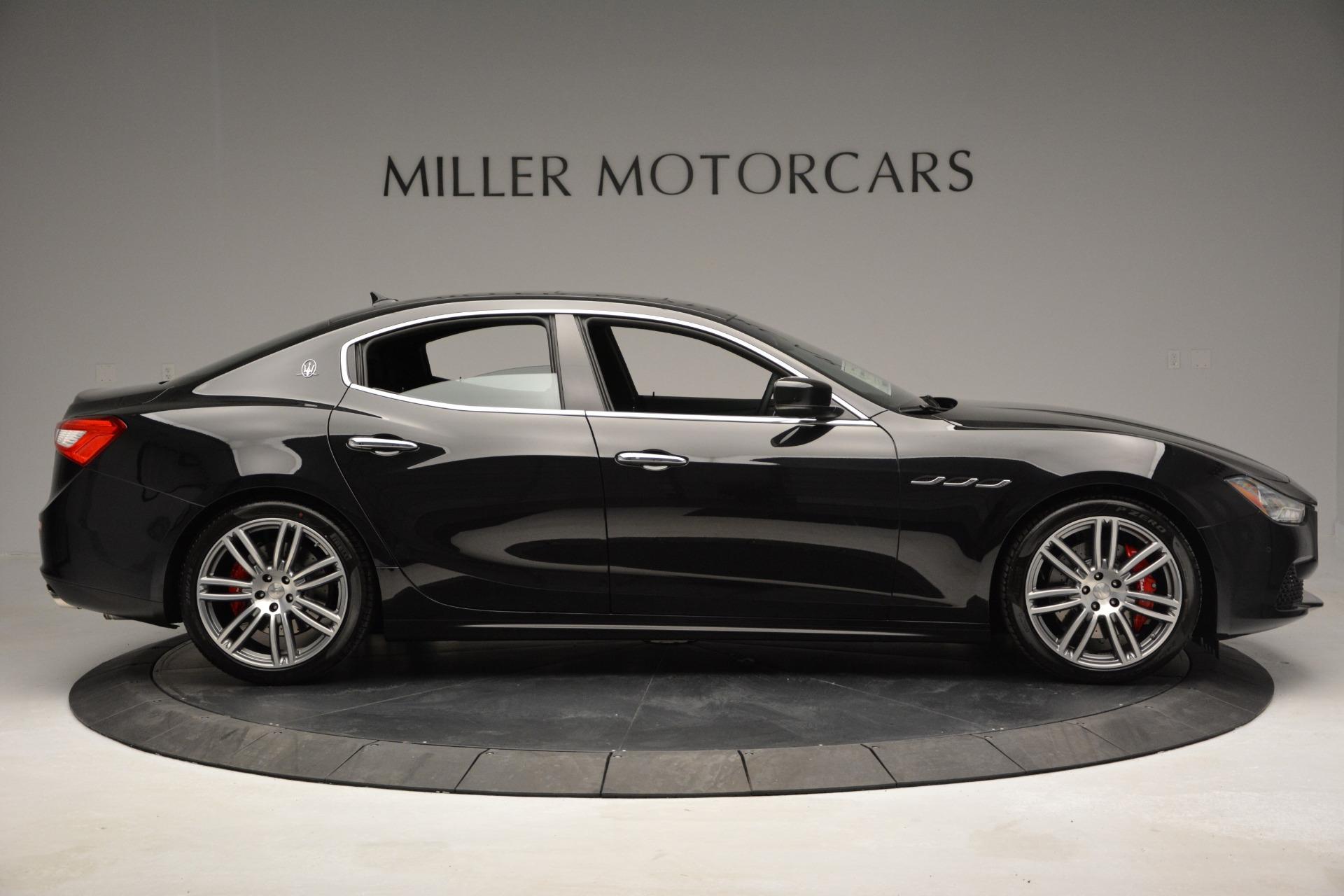 Used 2015 Maserati Ghibli S Q4 For Sale In Greenwich, CT 2070_p9