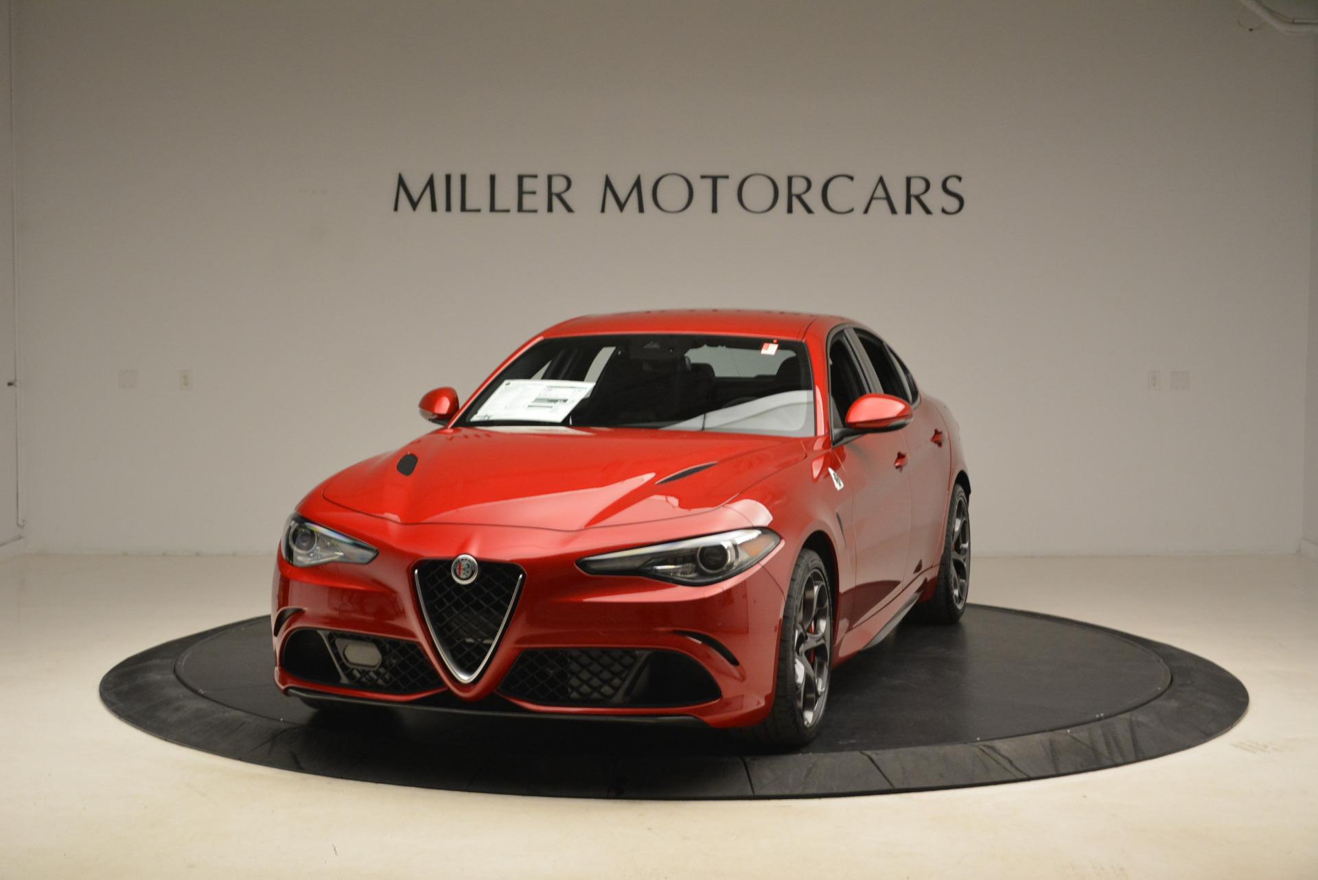 New 2018 Alfa Romeo Giulia Quadrifoglio For Sale In Greenwich, CT 2081_main