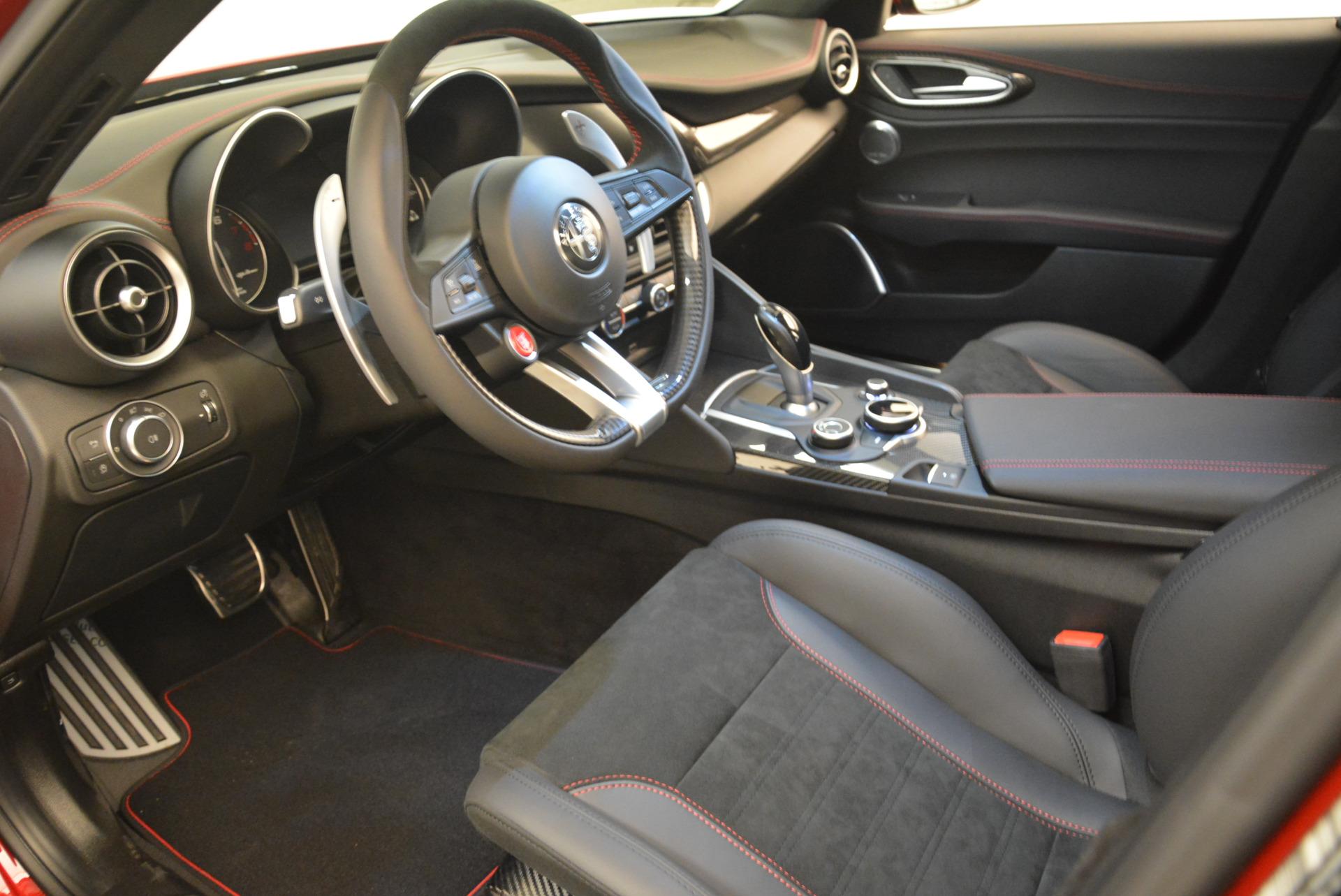 New 2018 Alfa Romeo Giulia Quadrifoglio For Sale In Greenwich, CT 2081_p13