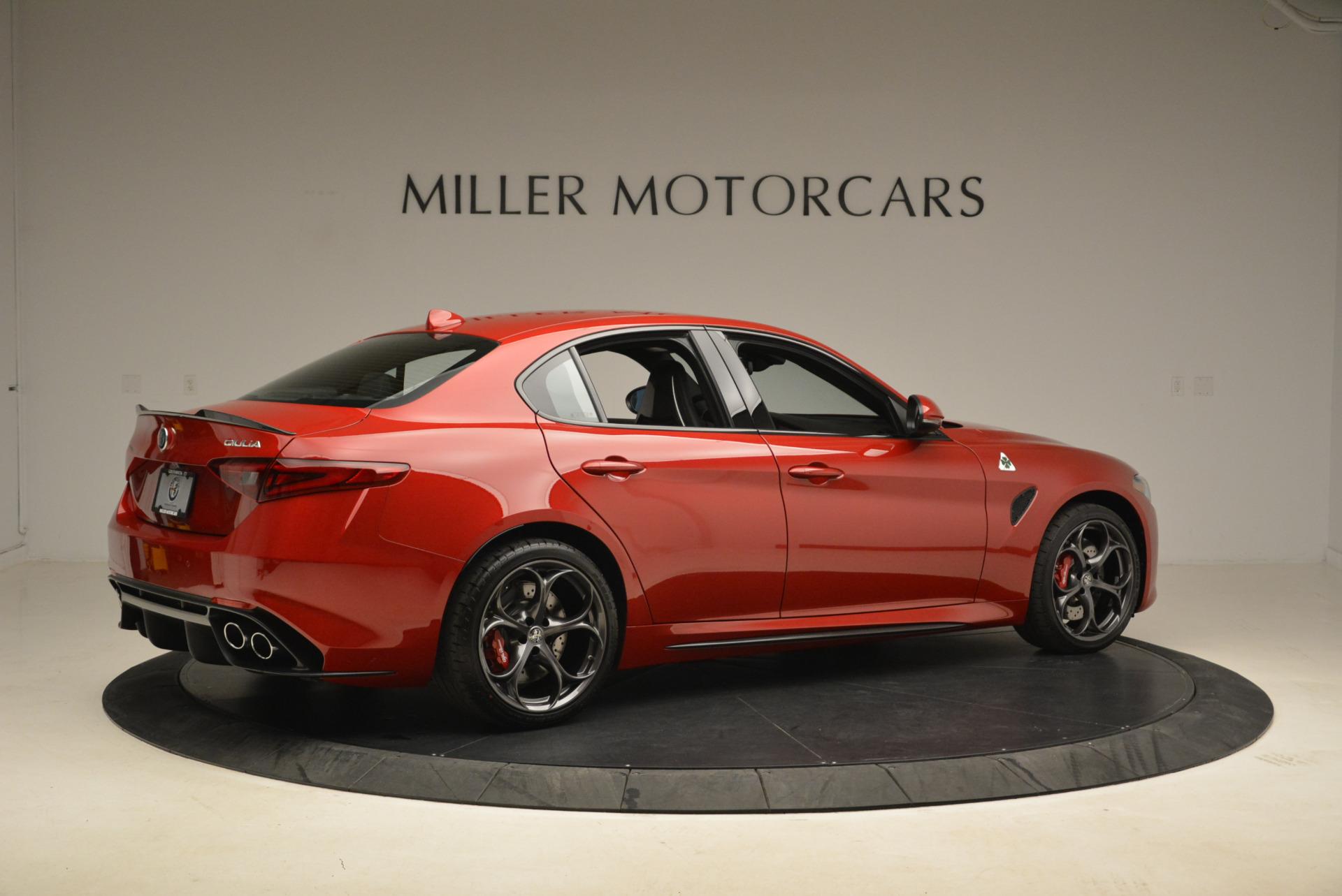 New 2018 Alfa Romeo Giulia Quadrifoglio For Sale In Greenwich, CT 2081_p8