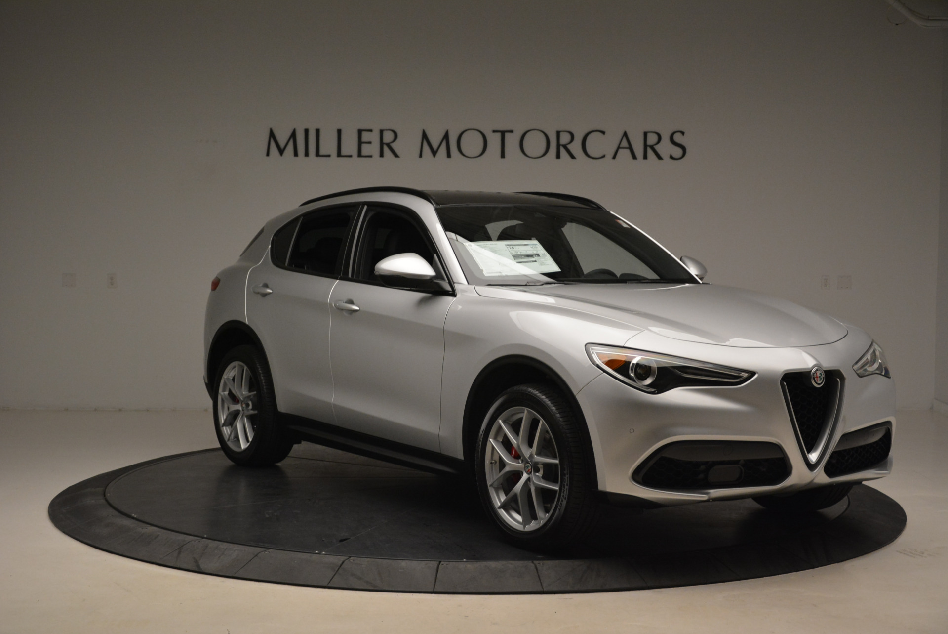New 2018 Alfa Romeo Stelvio Ti Sport Q4 For Sale In Greenwich, CT 2086_p11