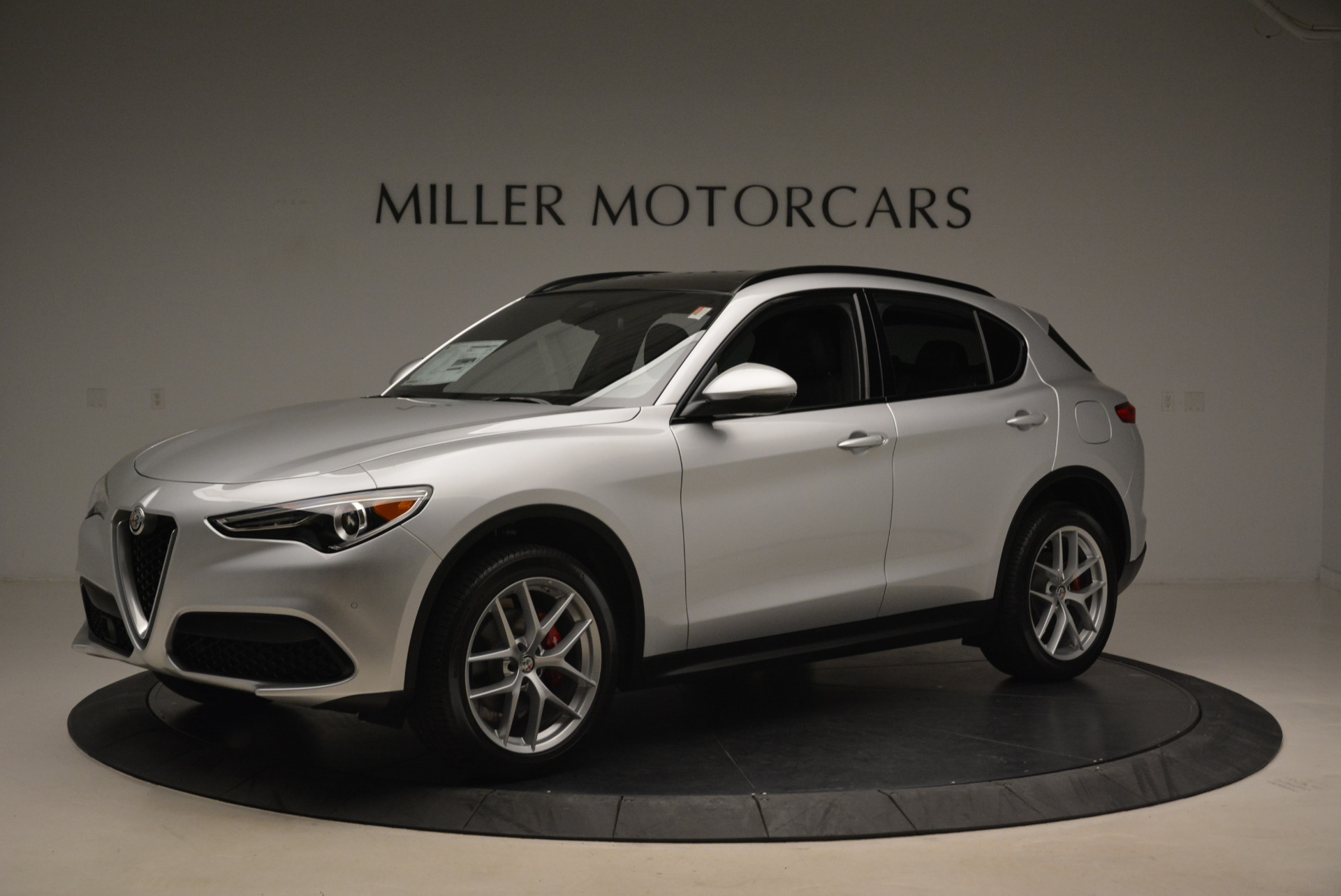 New 2018 Alfa Romeo Stelvio Ti Sport Q4 For Sale In Greenwich, CT 2086_p2