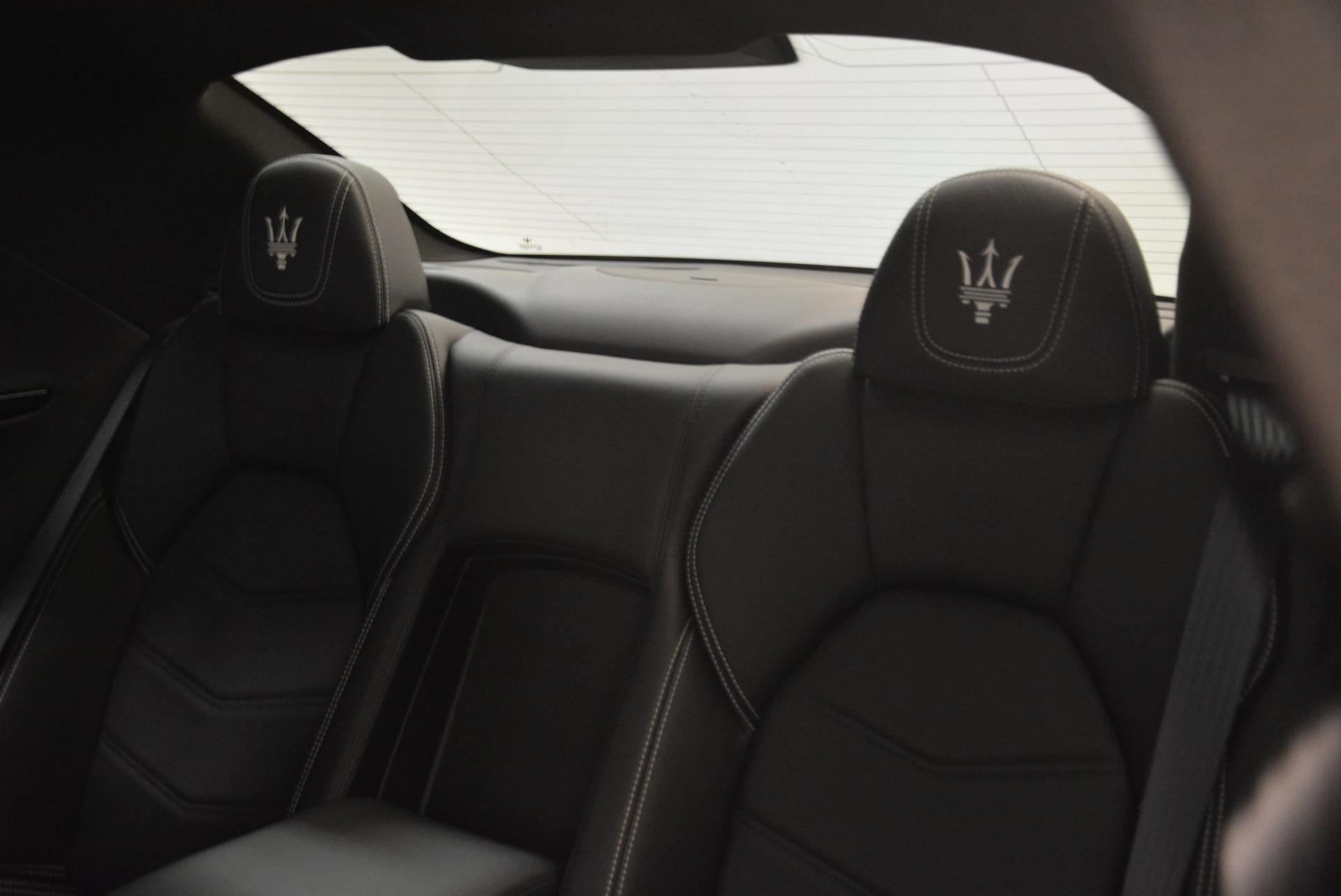 Used 2016 Maserati GranTurismo Sport For Sale In Greenwich, CT 2095_p21