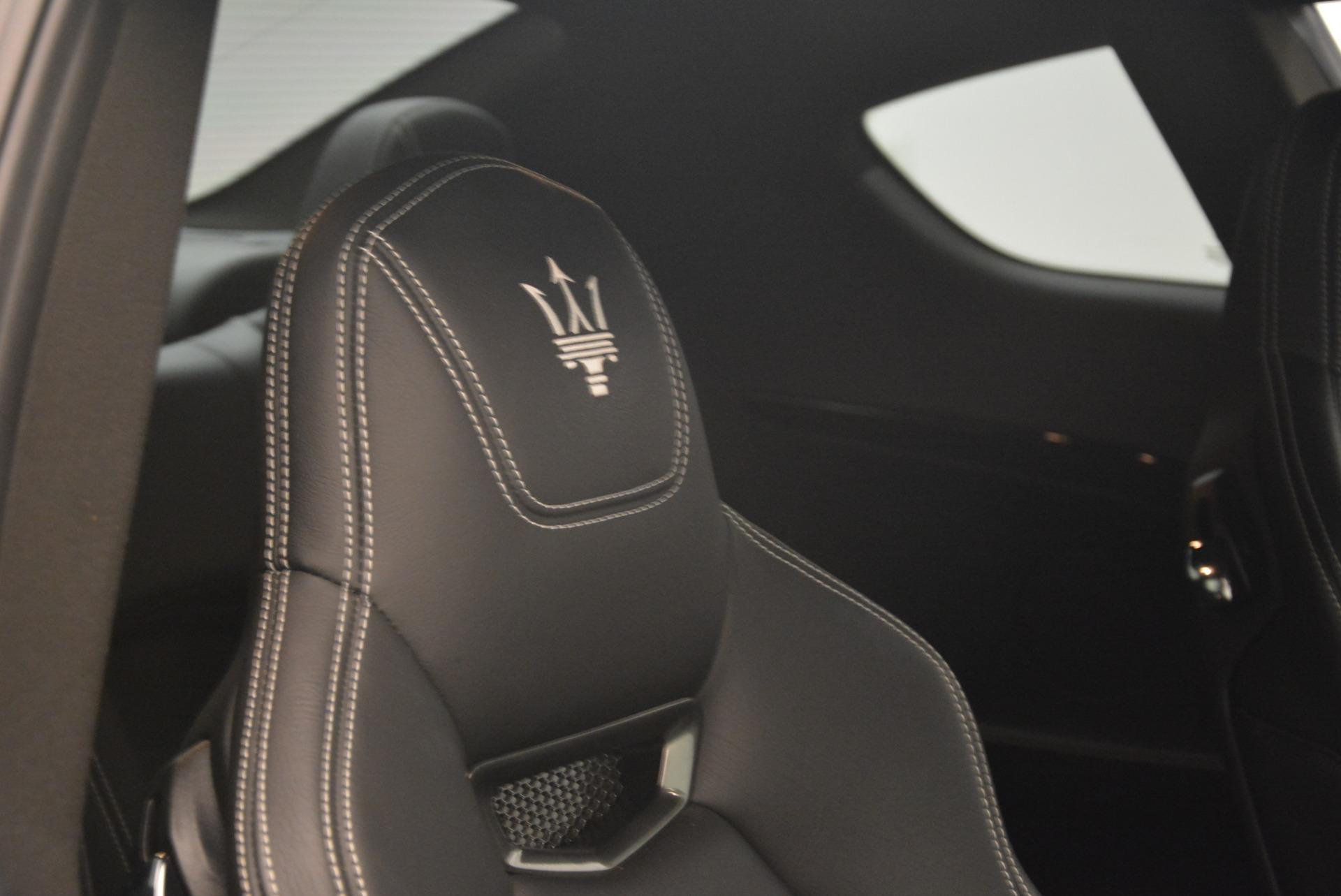 Used 2016 Maserati GranTurismo Sport For Sale In Greenwich, CT 2095_p27