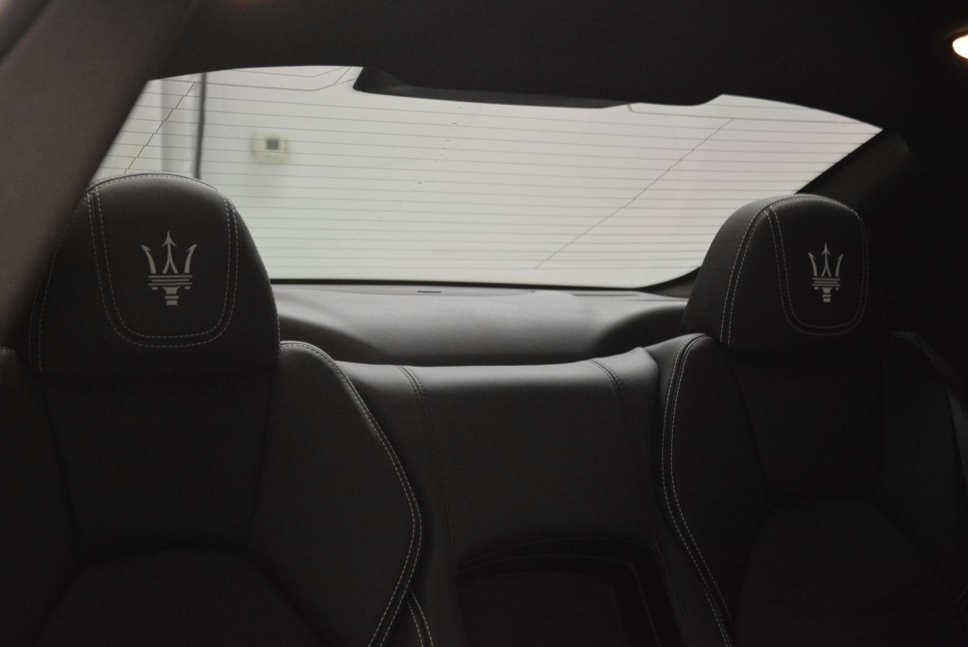 Used 2016 Maserati GranTurismo Sport For Sale In Greenwich, CT 2095_p29