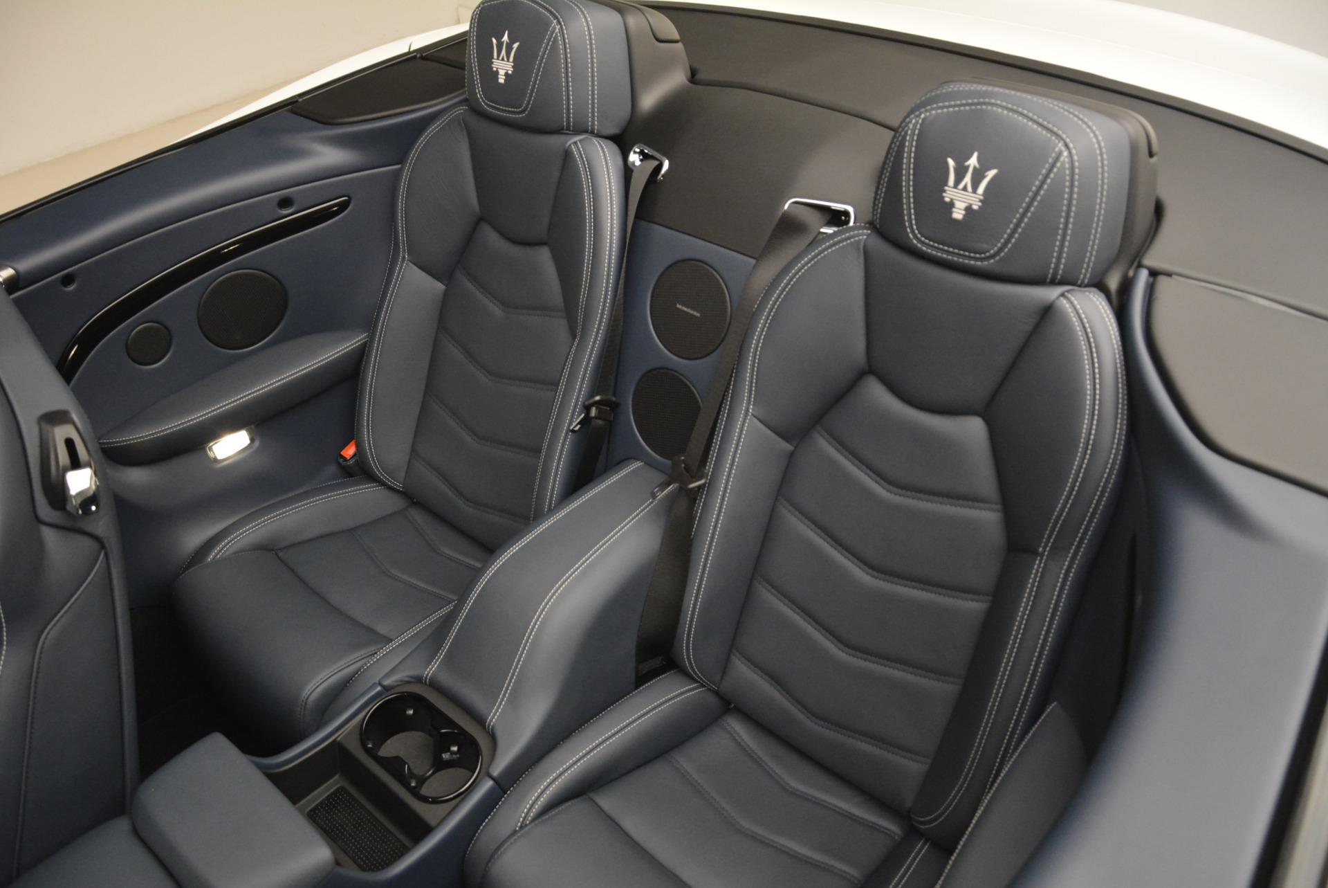 New 2018 Maserati GranTurismo Sport Convertible For Sale In Greenwich, CT 2106_p31
