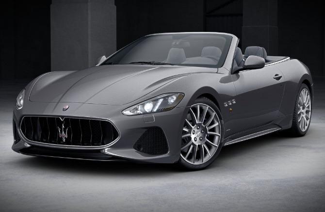 New 2018 Maserati GranTurismo Sport Convertible For Sale In Greenwich, CT 2109_main