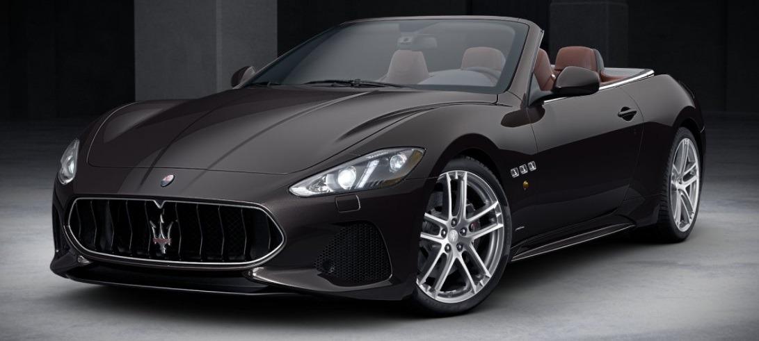 New 2018 Maserati GranTurismo Sport Convertible For Sale In Greenwich, CT 2115_main