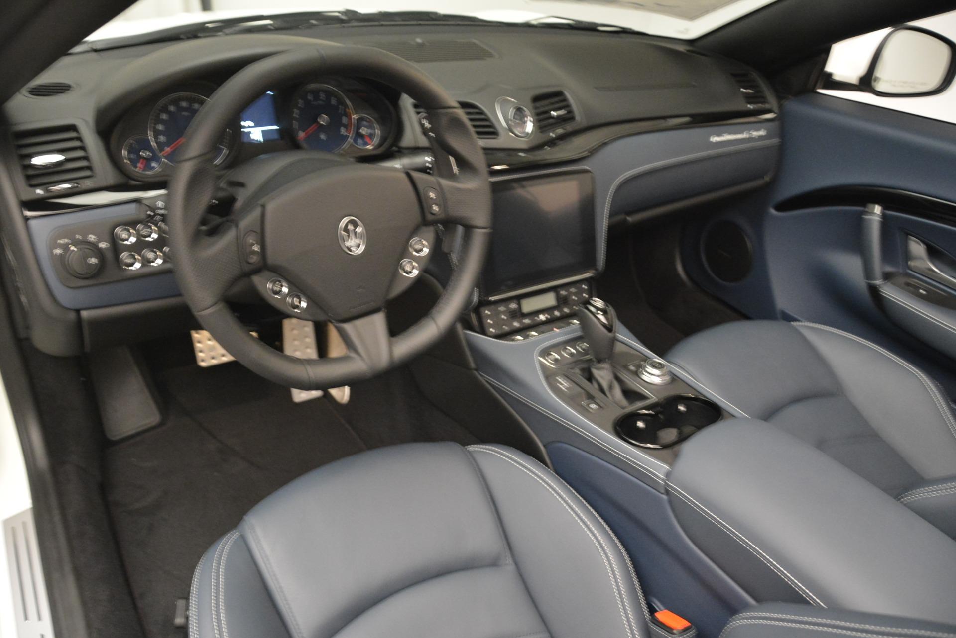 New 2018 Maserati GranTurismo Sport Convertible For Sale In Greenwich, CT 2120_p11