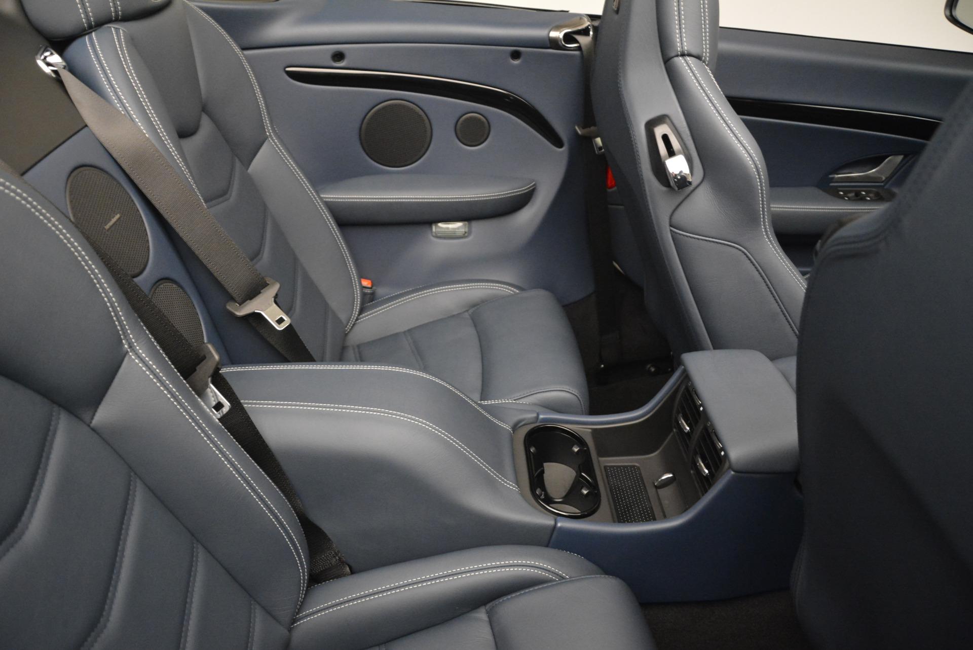 New 2018 Maserati GranTurismo Sport Convertible For Sale In Greenwich, CT 2120_p22