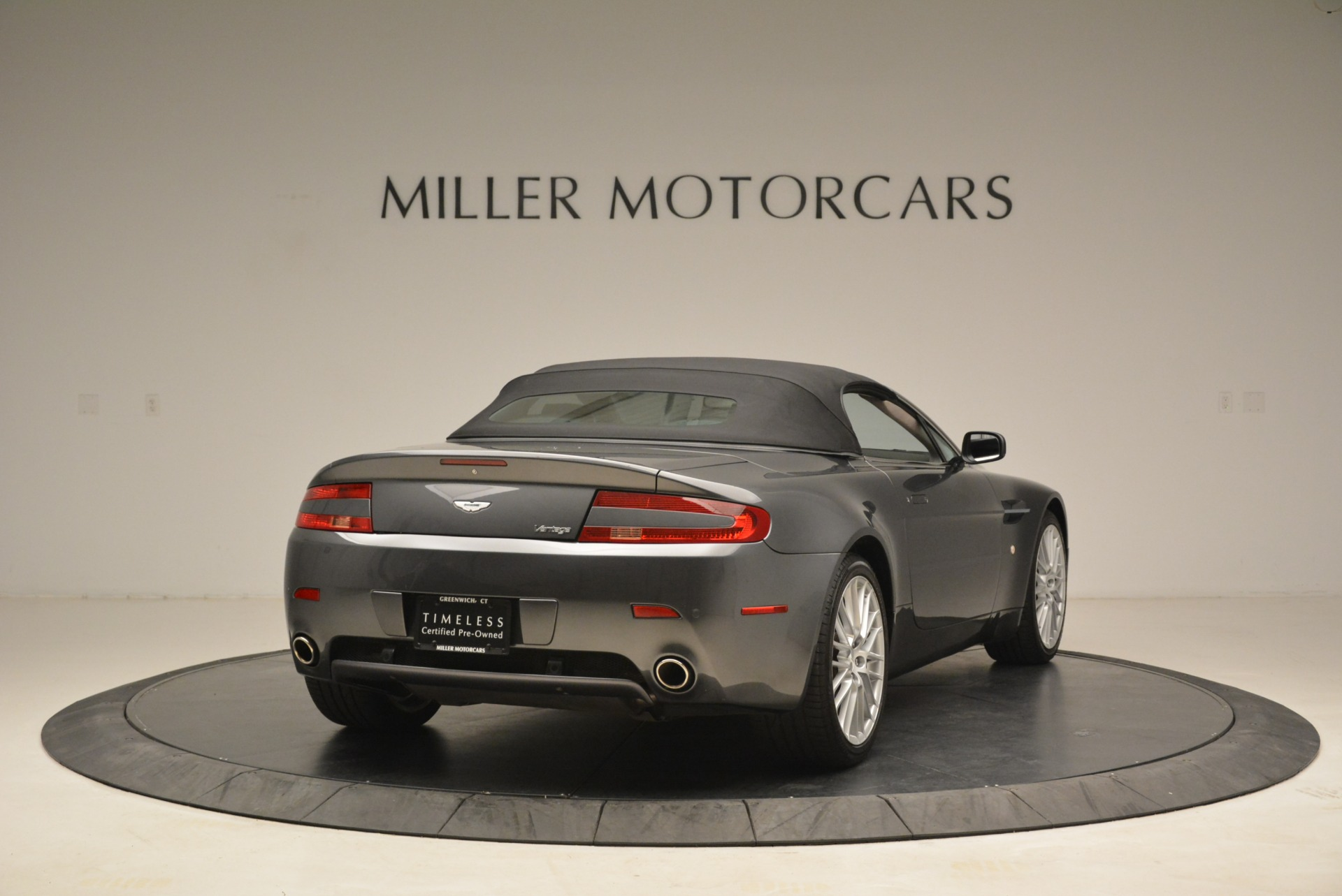 Used 2009 Aston Martin V8 Vantage Roadster For Sale In Greenwich, CT 2123_p19