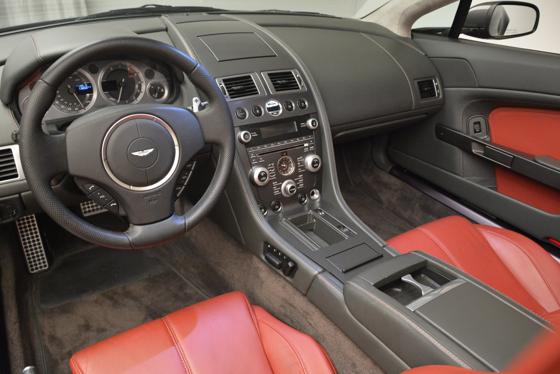 Used 2009 Aston Martin V8 Vantage Roadster For Sale In Greenwich, CT 2123_p26