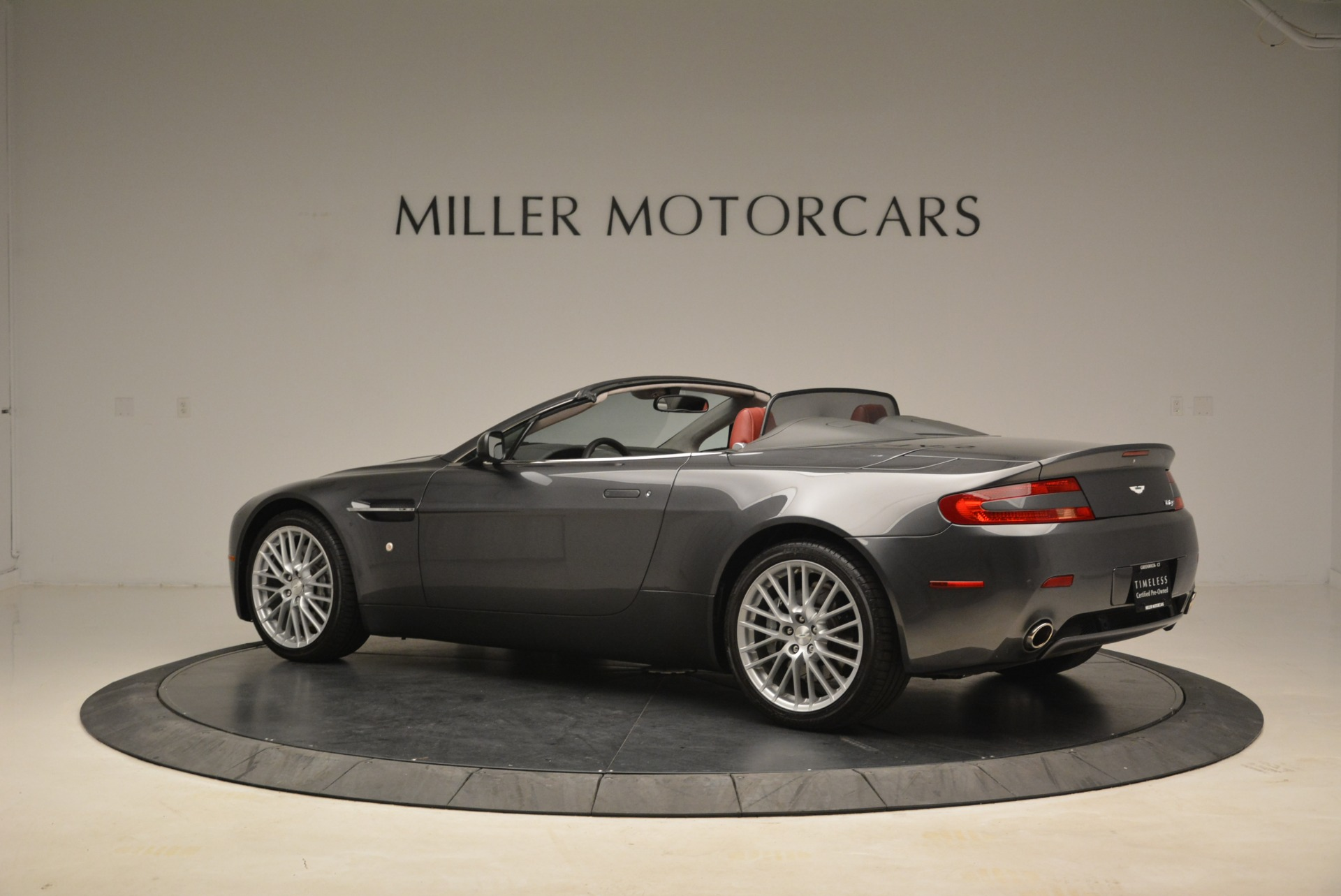 Used 2009 Aston Martin V8 Vantage Roadster For Sale In Greenwich, CT 2123_p4