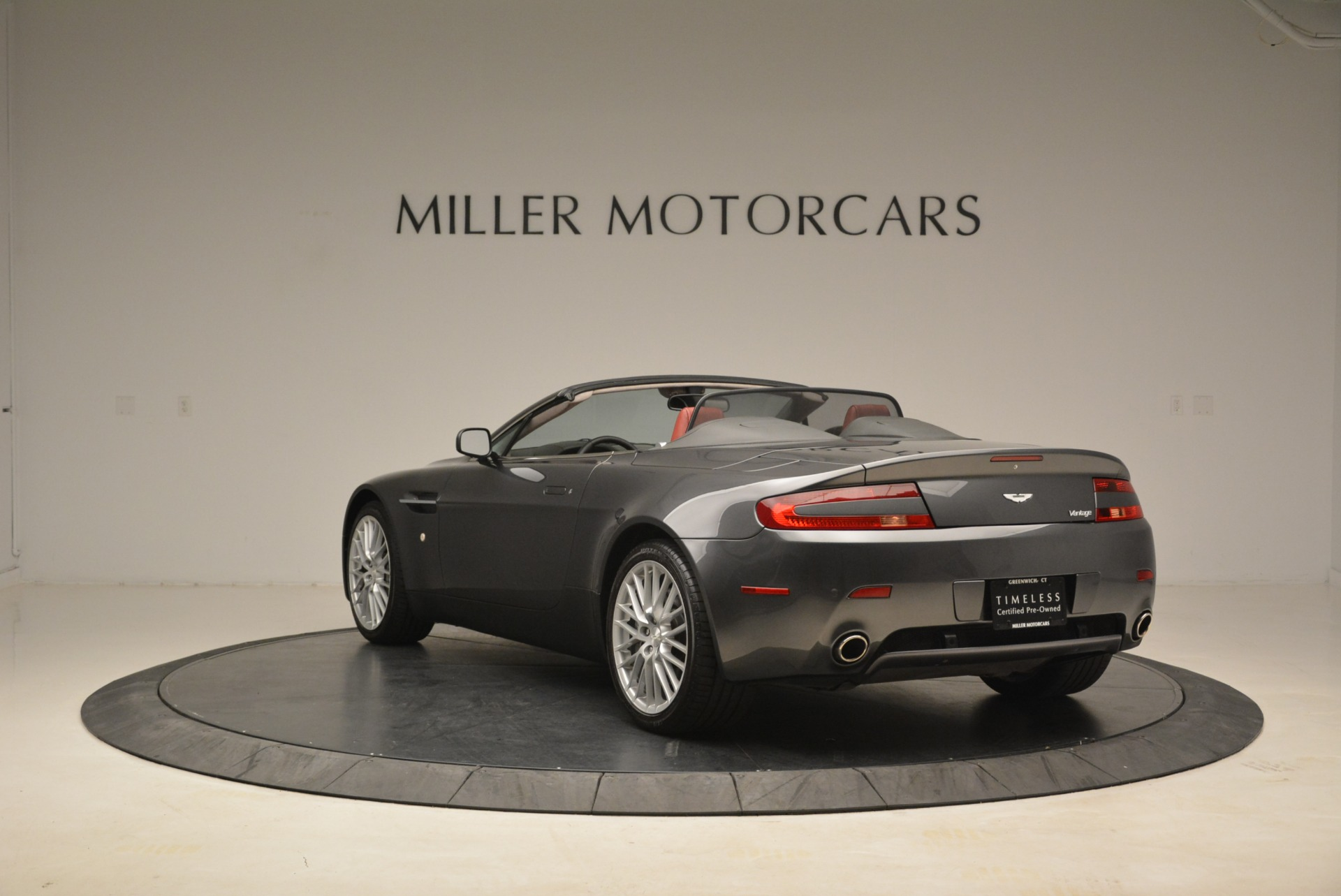 Used 2009 Aston Martin V8 Vantage Roadster For Sale In Greenwich, CT 2123_p5