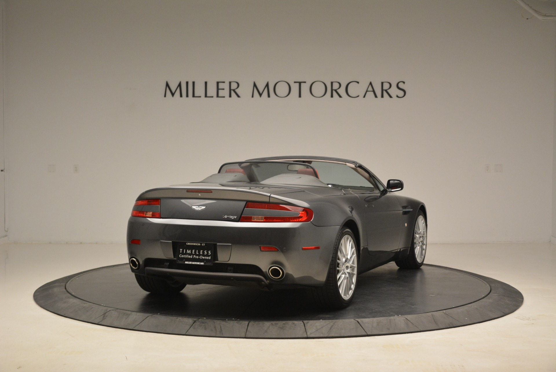 Used 2009 Aston Martin V8 Vantage Roadster For Sale In Greenwich, CT 2123_p7