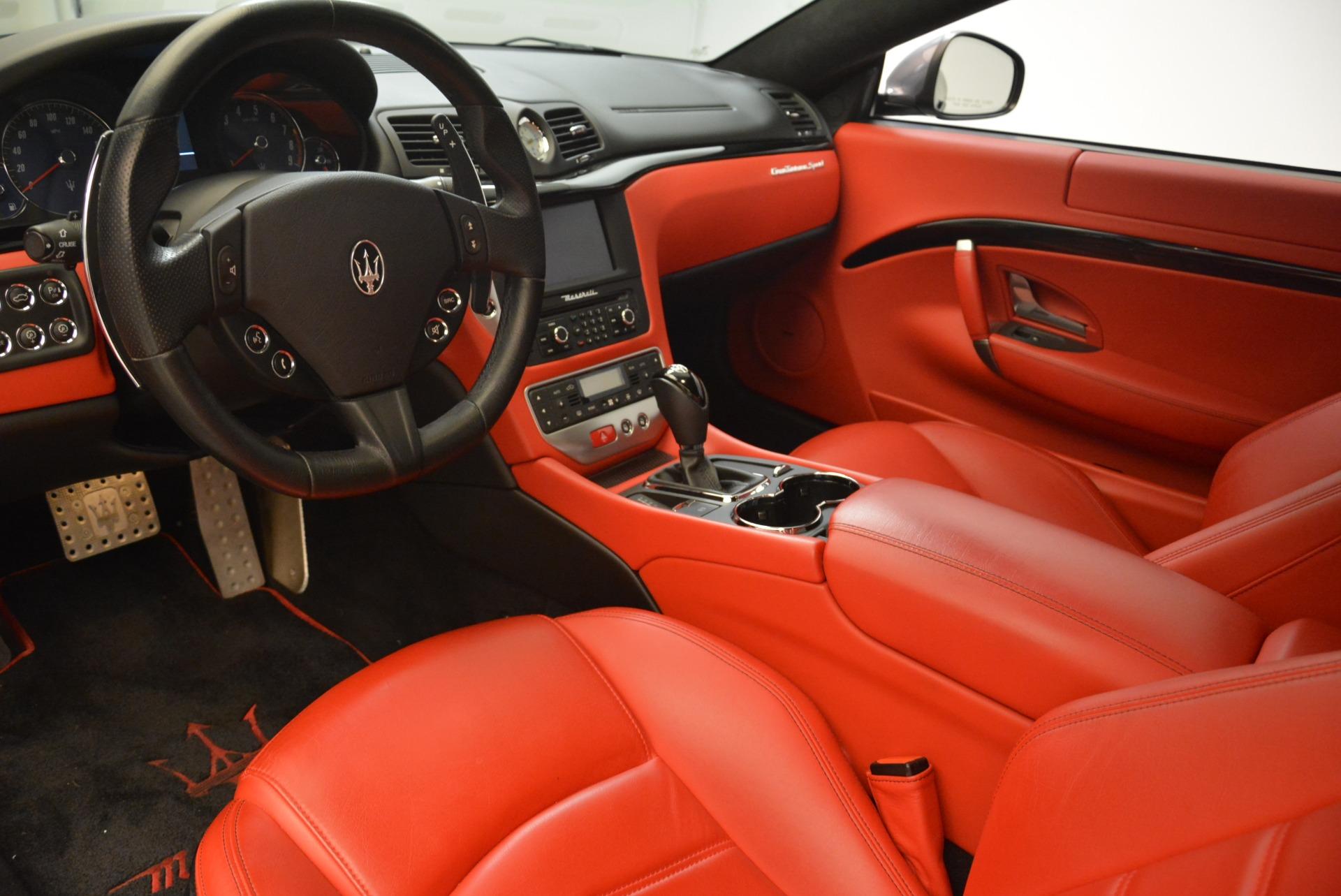 Used 2014 Maserati GranTurismo Sport For Sale In Greenwich, CT 2131_p11