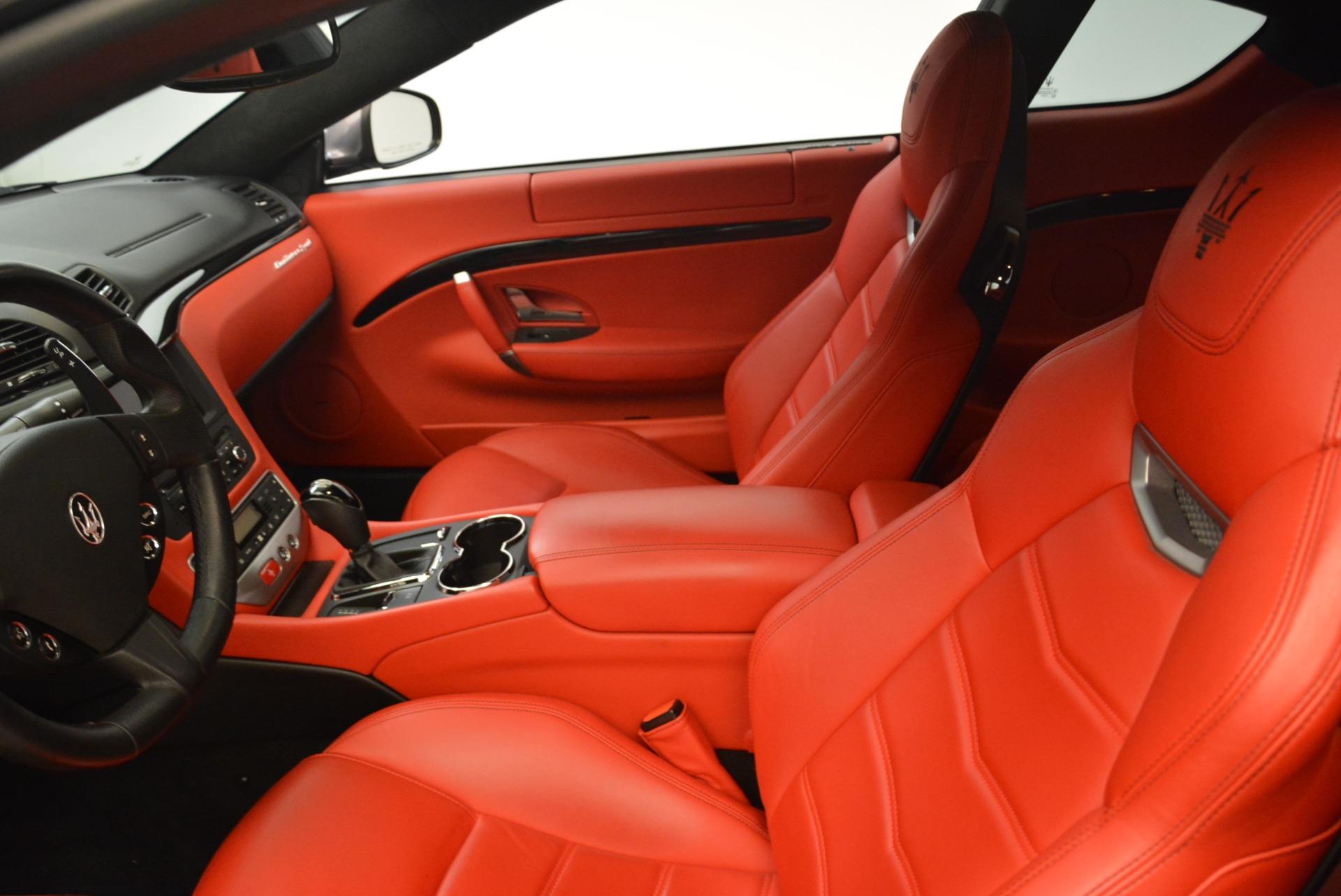 Used 2014 Maserati GranTurismo Sport For Sale In Greenwich, CT 2131_p12