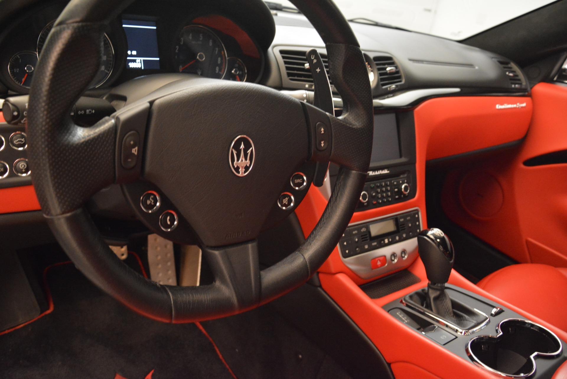 Used 2014 Maserati GranTurismo Sport For Sale In Greenwich, CT 2131_p15