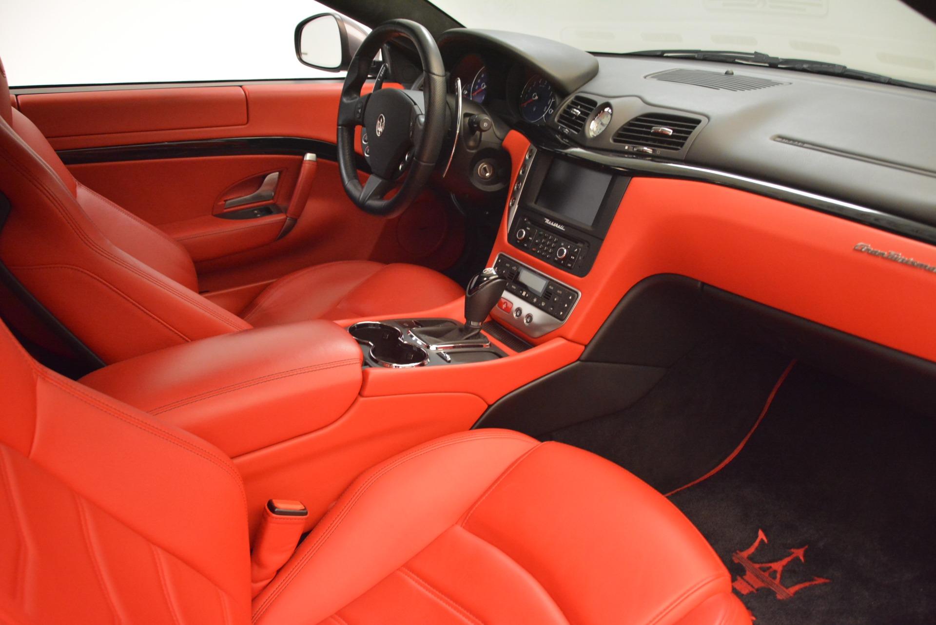 Used 2014 Maserati GranTurismo Sport For Sale In Greenwich, CT 2131_p17