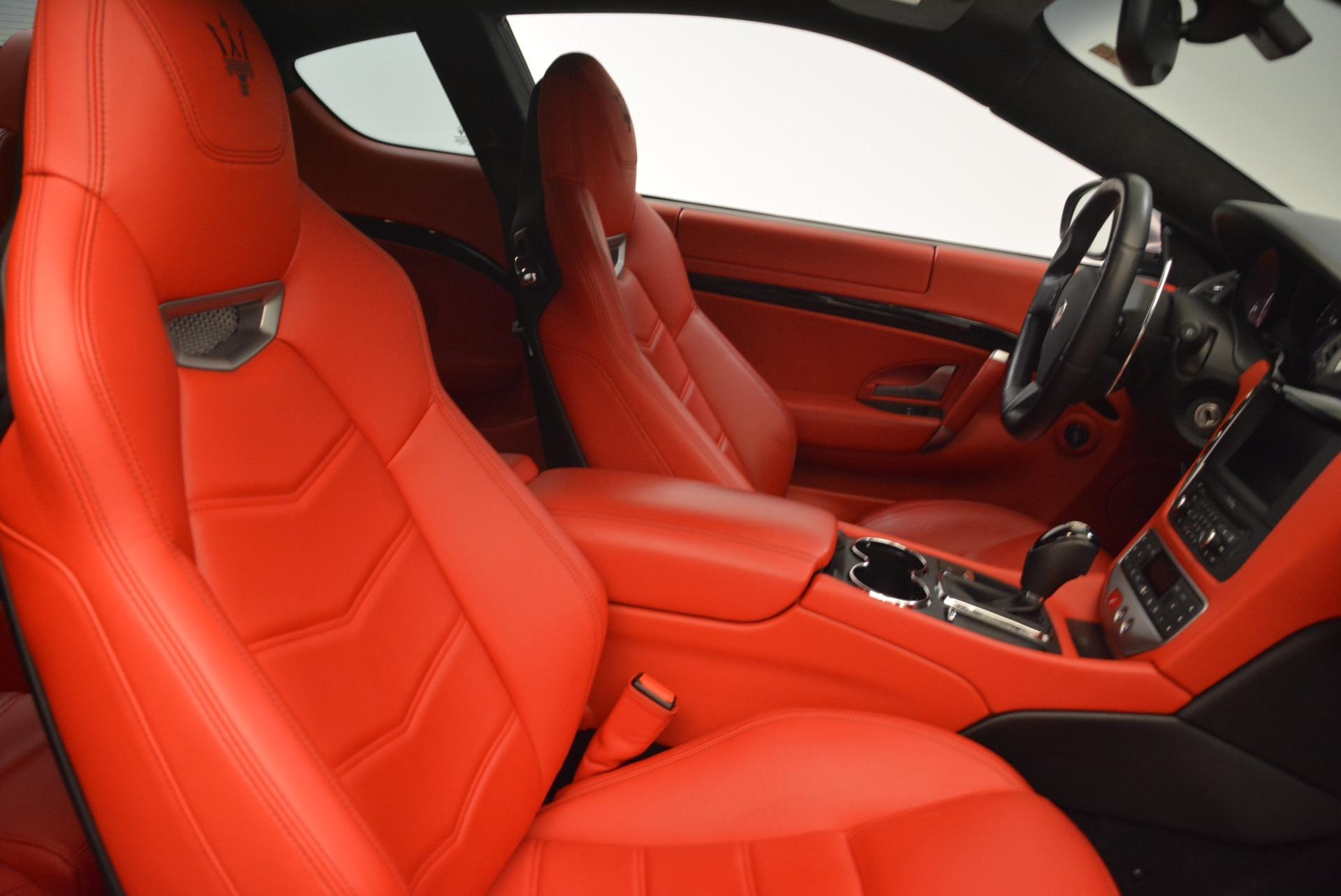 Used 2014 Maserati GranTurismo Sport For Sale In Greenwich, CT 2131_p18