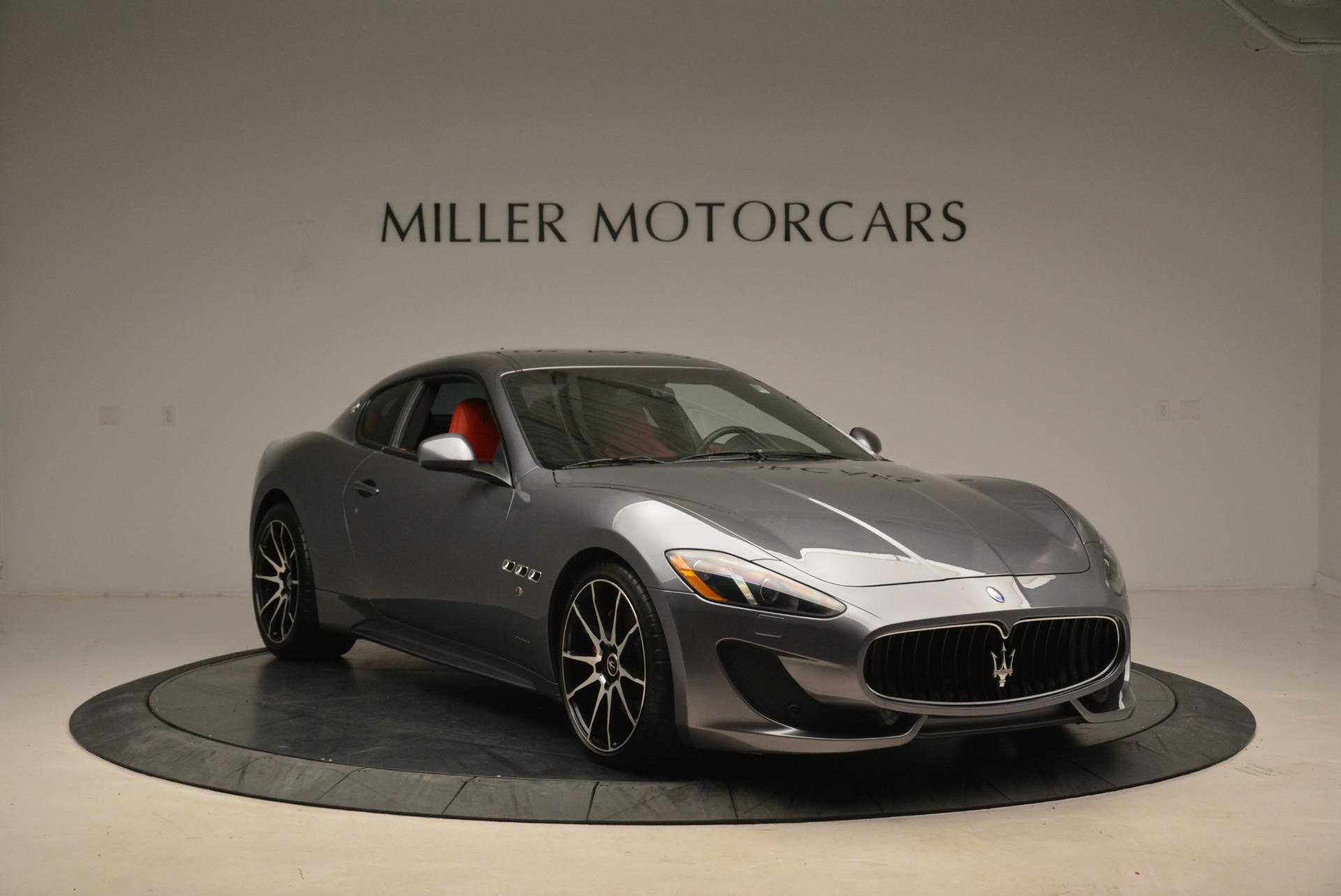 Used 2014 Maserati GranTurismo Sport For Sale In Greenwich, CT 2131_p9