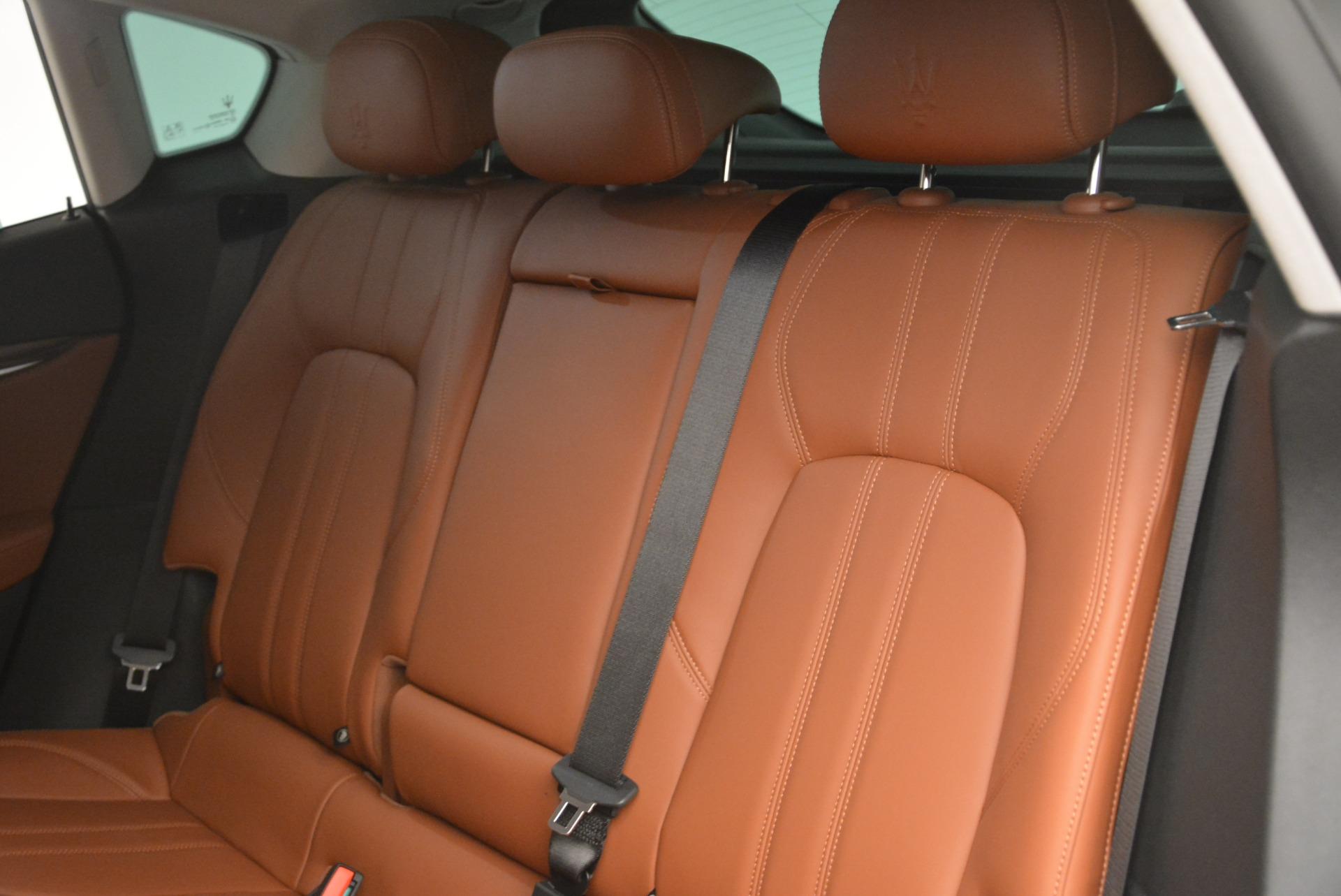 New 2018 Maserati Levante Q4 GranSport For Sale In Greenwich, CT 2133_p24