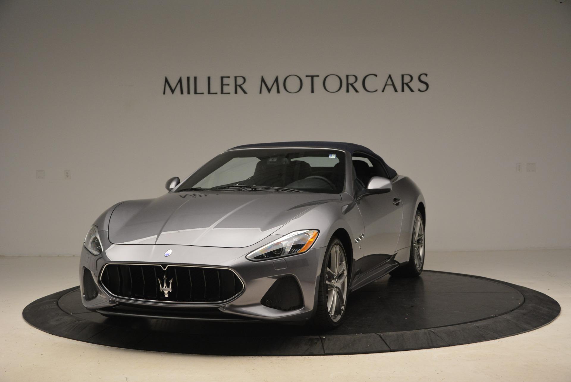New 2018 Maserati GranTurismo Sport Convertible For Sale In Greenwich, CT 2140_main