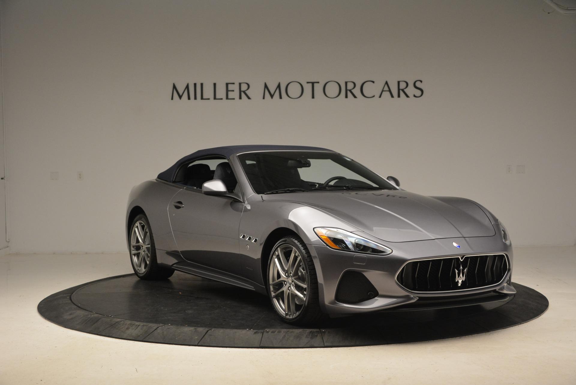 New 2018 Maserati GranTurismo Sport Convertible For Sale In Greenwich, CT 2140_p11