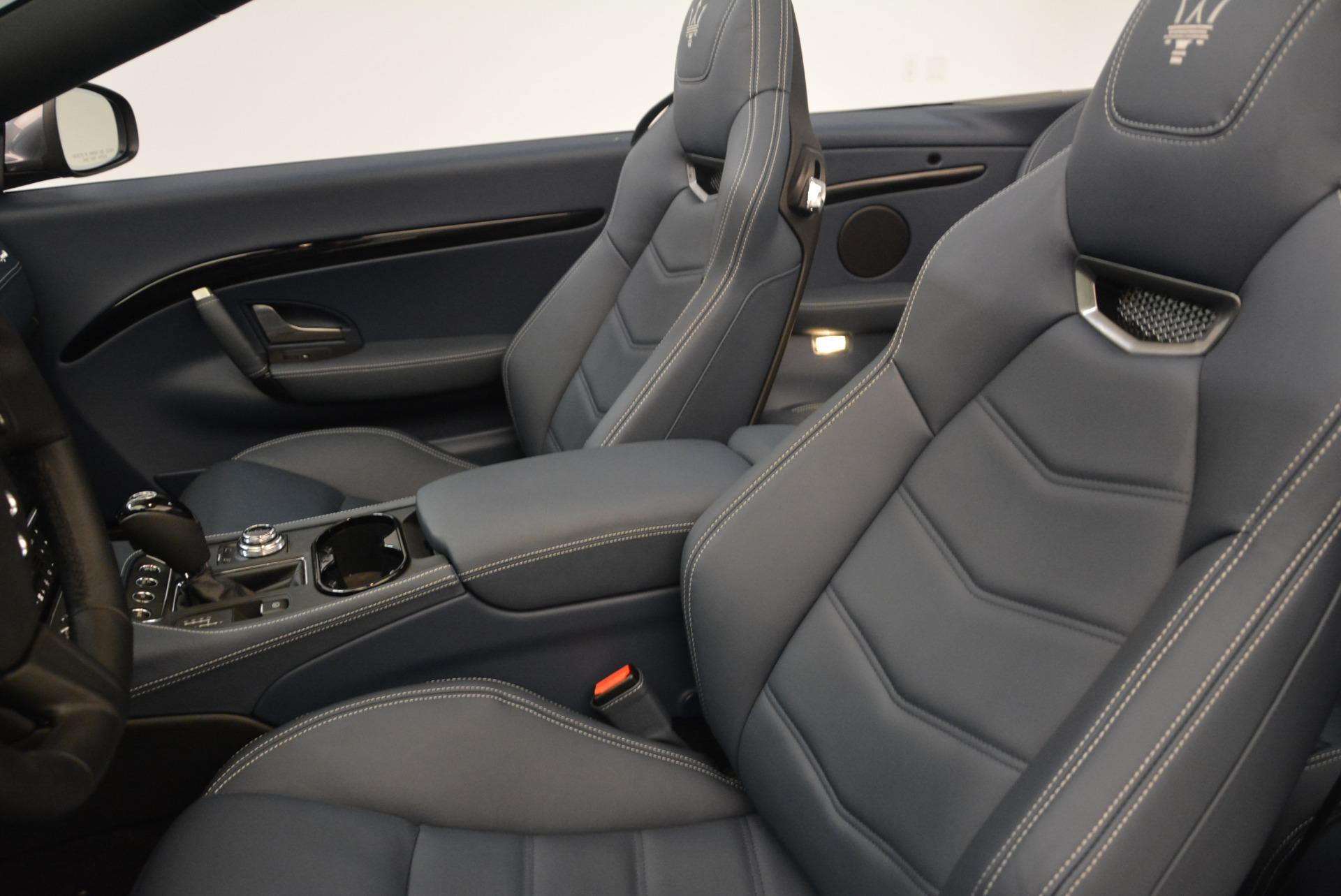 New 2018 Maserati GranTurismo Sport Convertible For Sale In Greenwich, CT 2140_p27