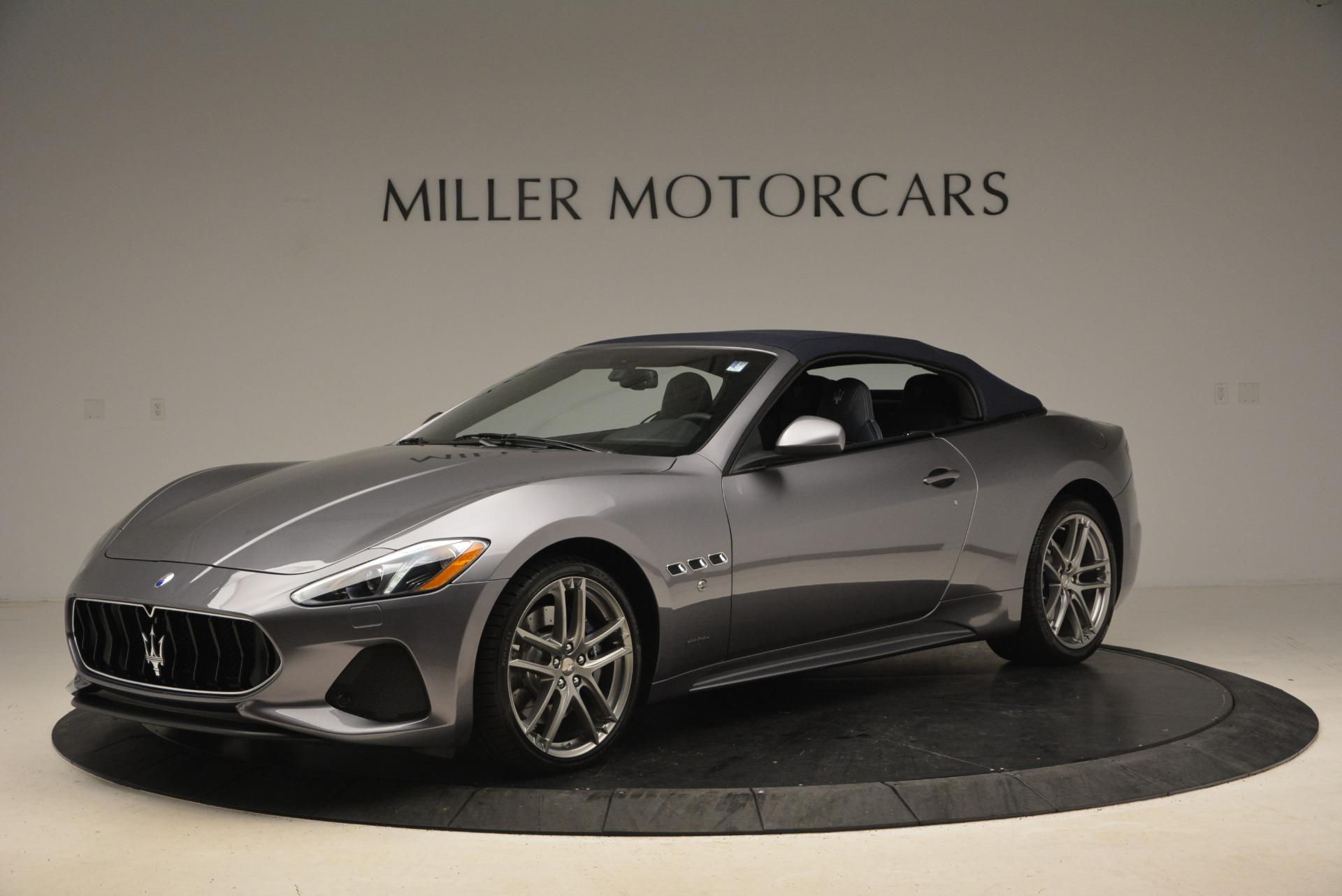 New 2018 Maserati GranTurismo Sport Convertible For Sale In Greenwich, CT 2140_p2
