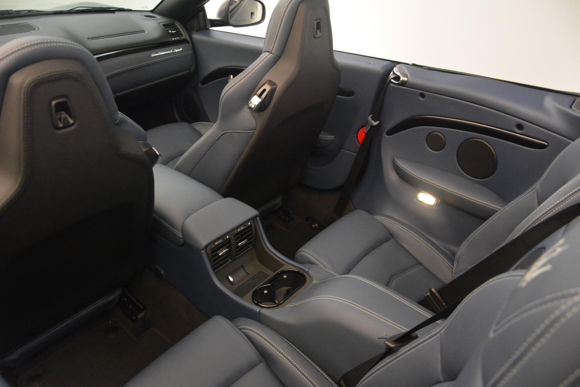 New 2018 Maserati GranTurismo Sport Convertible For Sale In Greenwich, CT 2140_p31