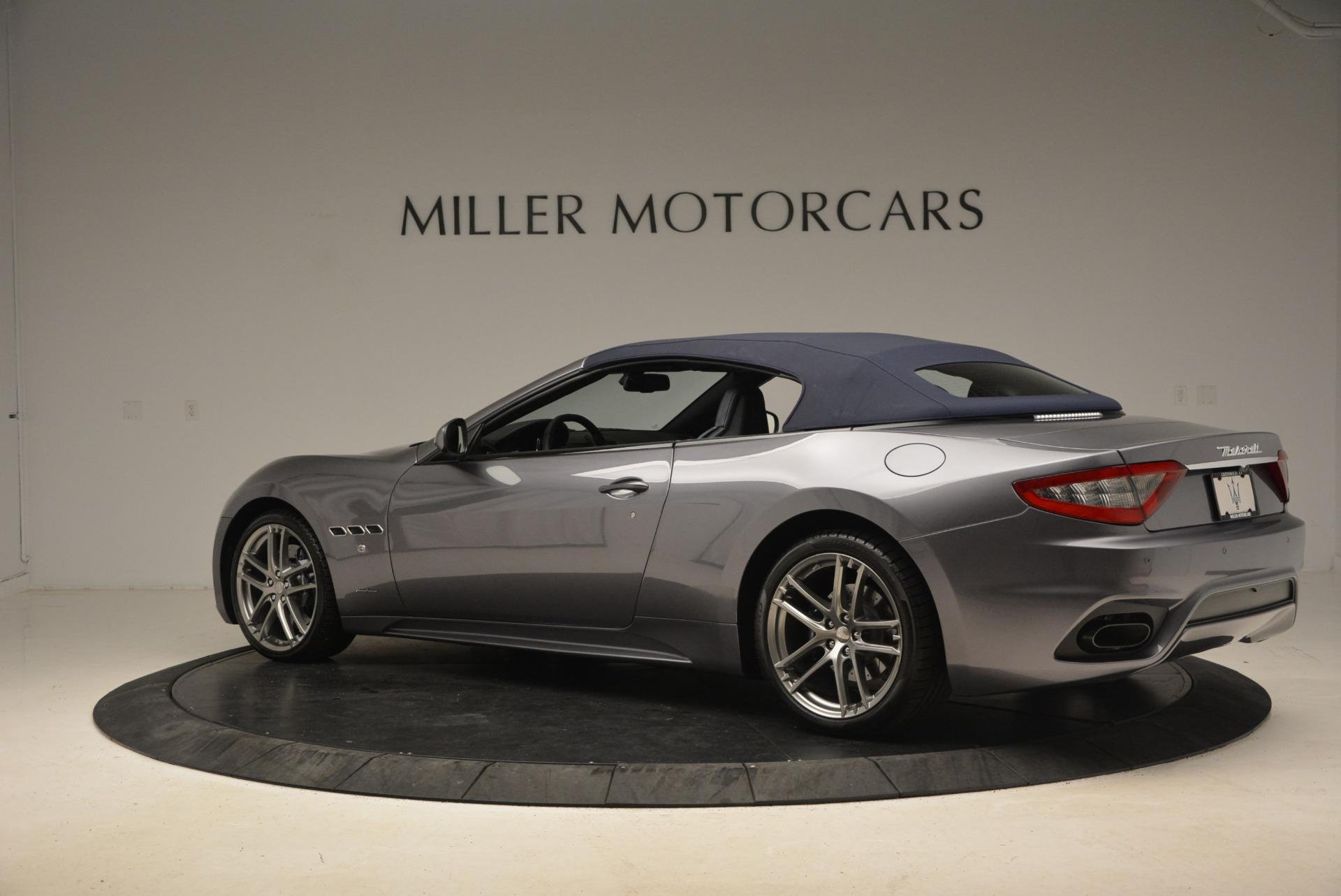 New 2018 Maserati GranTurismo Sport Convertible For Sale In Greenwich, CT 2140_p4