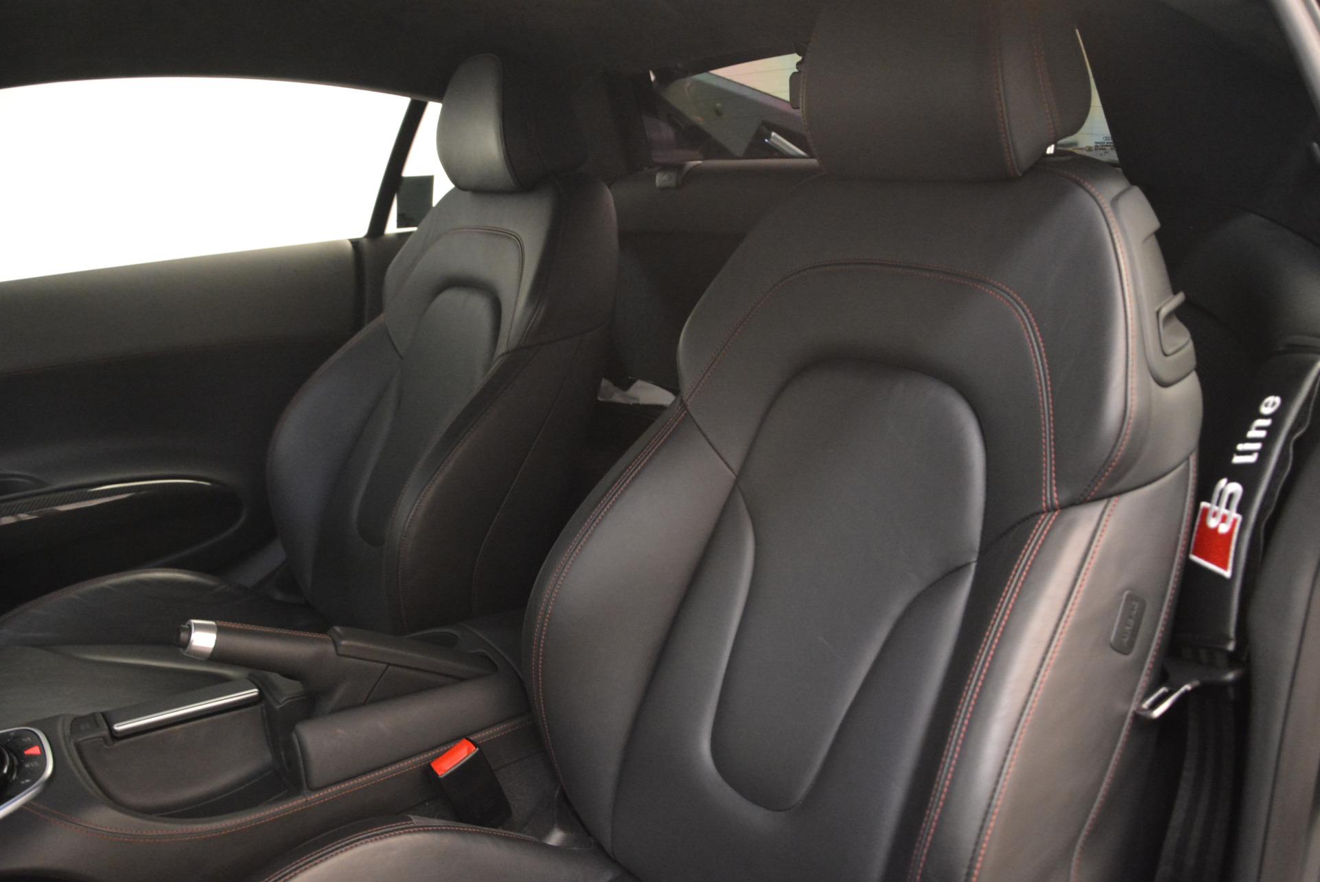 Used 2014 Audi R8 5.2 quattro For Sale In Greenwich, CT 2147_p16