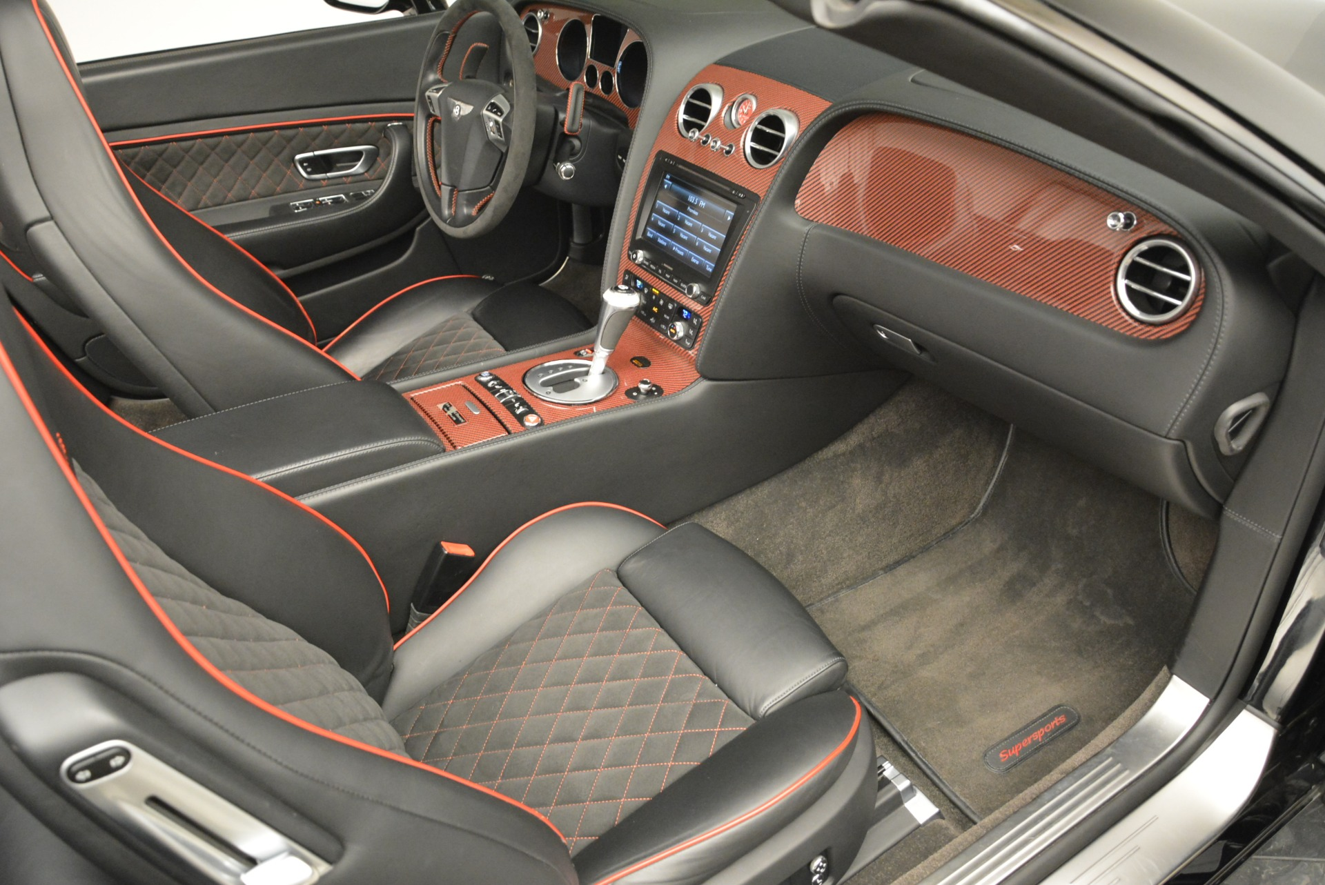 Used 2013 Bentley Continental GT Supersports Convertible ISR For Sale In Greenwich, CT 2151_p46