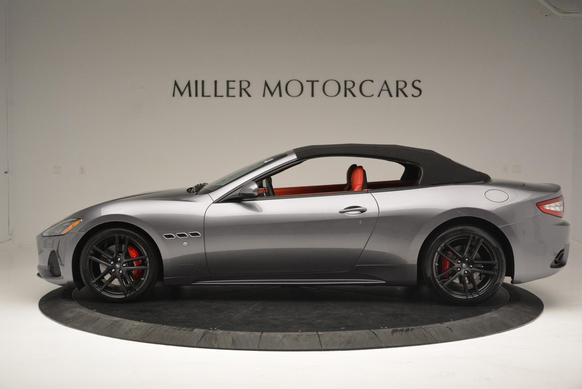New 2018 Maserati GranTurismo Sport Convertible For Sale In Greenwich, CT 2182_p15