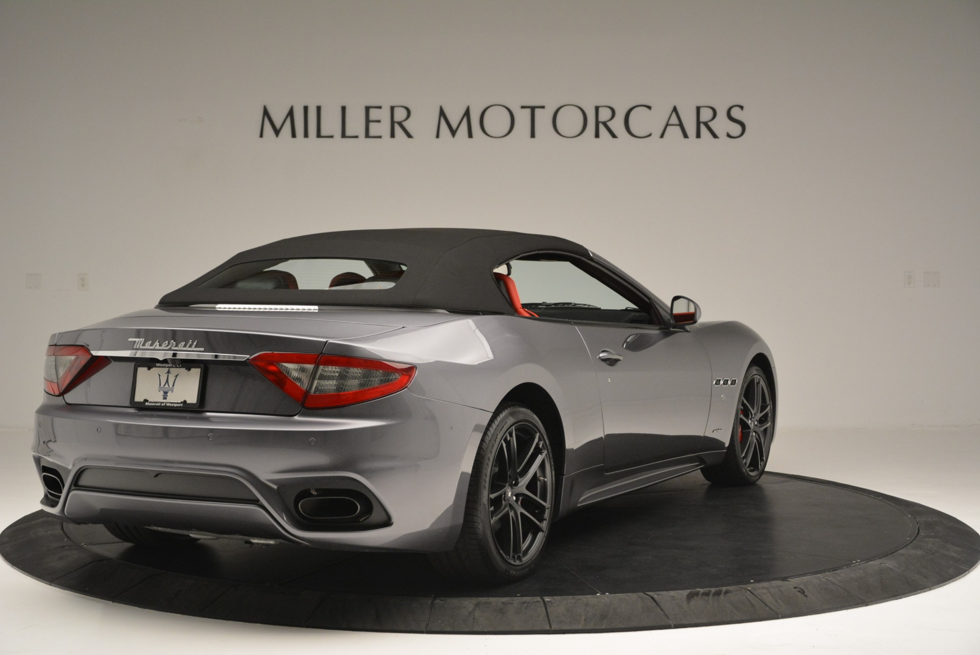New 2018 Maserati GranTurismo Sport Convertible For Sale In Greenwich, CT 2182_p19