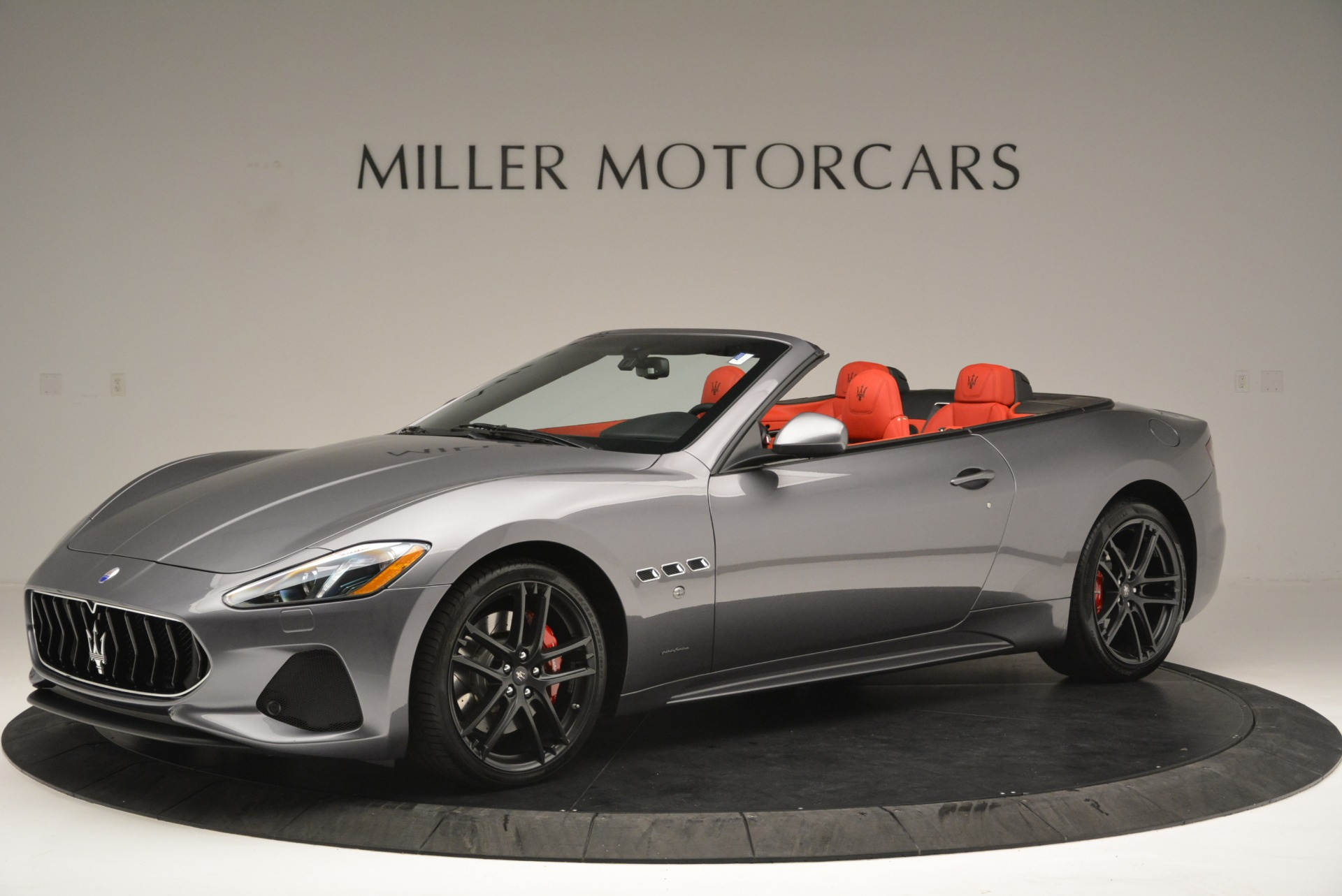 New 2018 Maserati GranTurismo Sport Convertible For Sale In Greenwich, CT 2182_p2