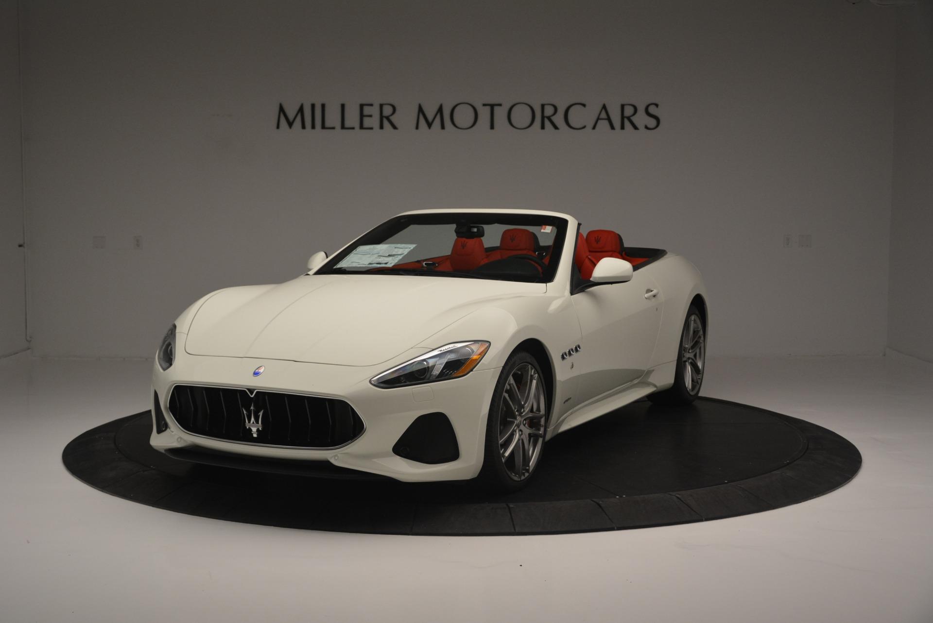 New 2018 Maserati GranTurismo Sport For Sale In Greenwich, CT 2187_main