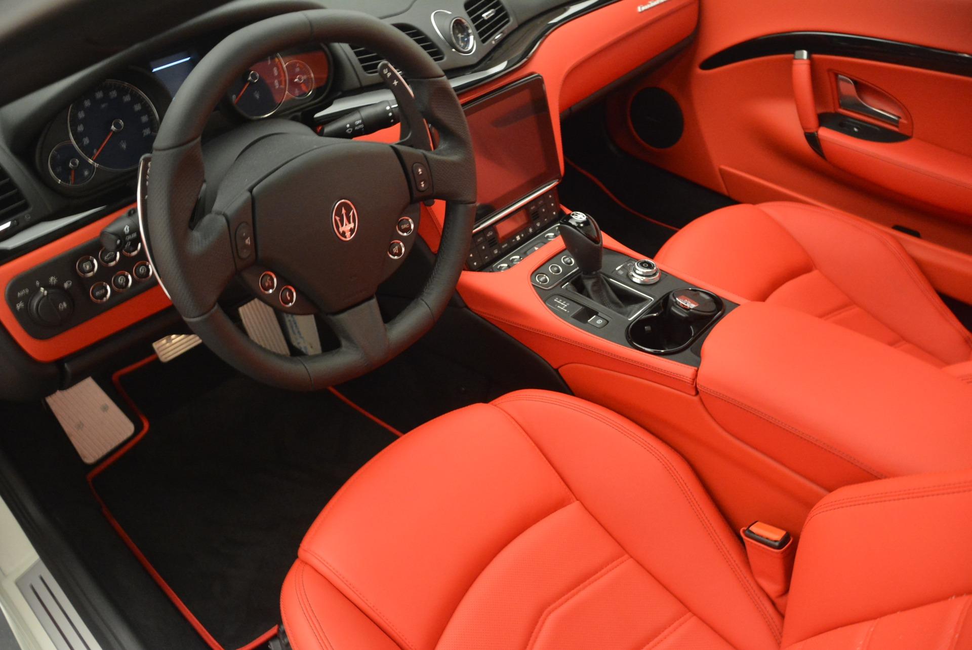 New 2018 Maserati GranTurismo Sport For Sale In Greenwich, CT 2187_p13
