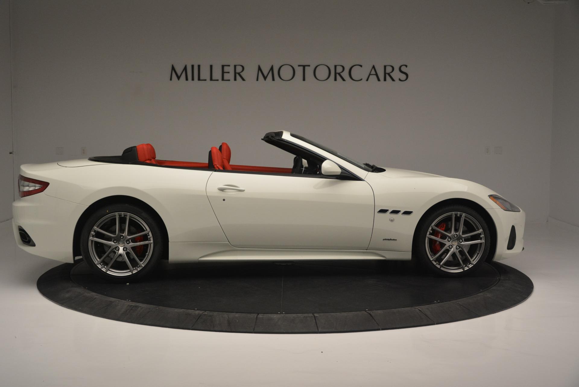 New 2018 Maserati GranTurismo Sport For Sale In Greenwich, CT 2187_p9