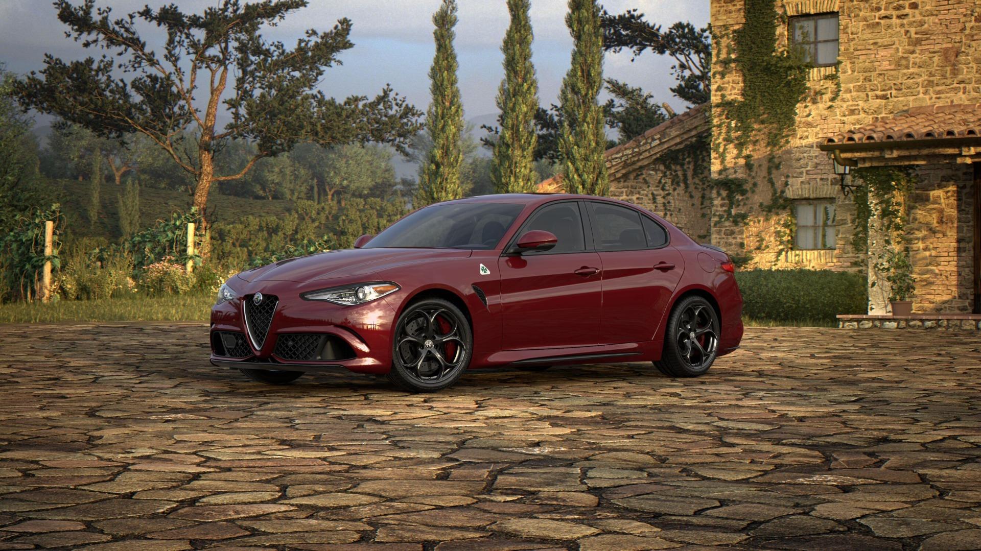New 2018 Alfa Romeo Giulia Quadrifoglio For Sale In Greenwich, CT 2191_main