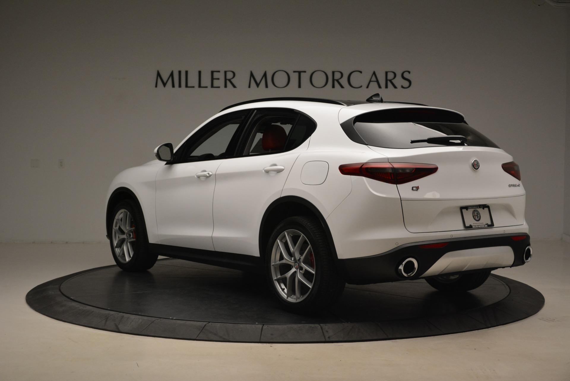 New 2018 Alfa Romeo Stelvio Ti Sport Q4 For Sale In Greenwich, CT 2197_p5
