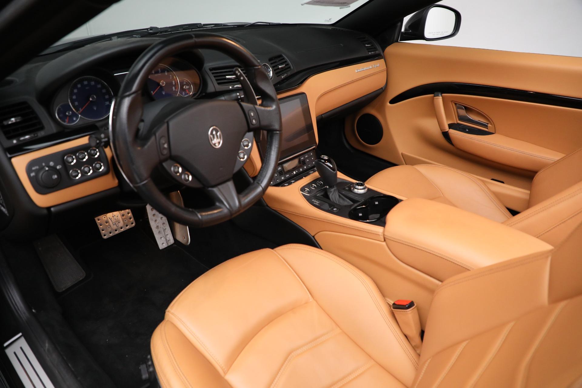 New 2018 Maserati GranTurismo Sport Convertible For Sale In Greenwich, CT 2198_p24