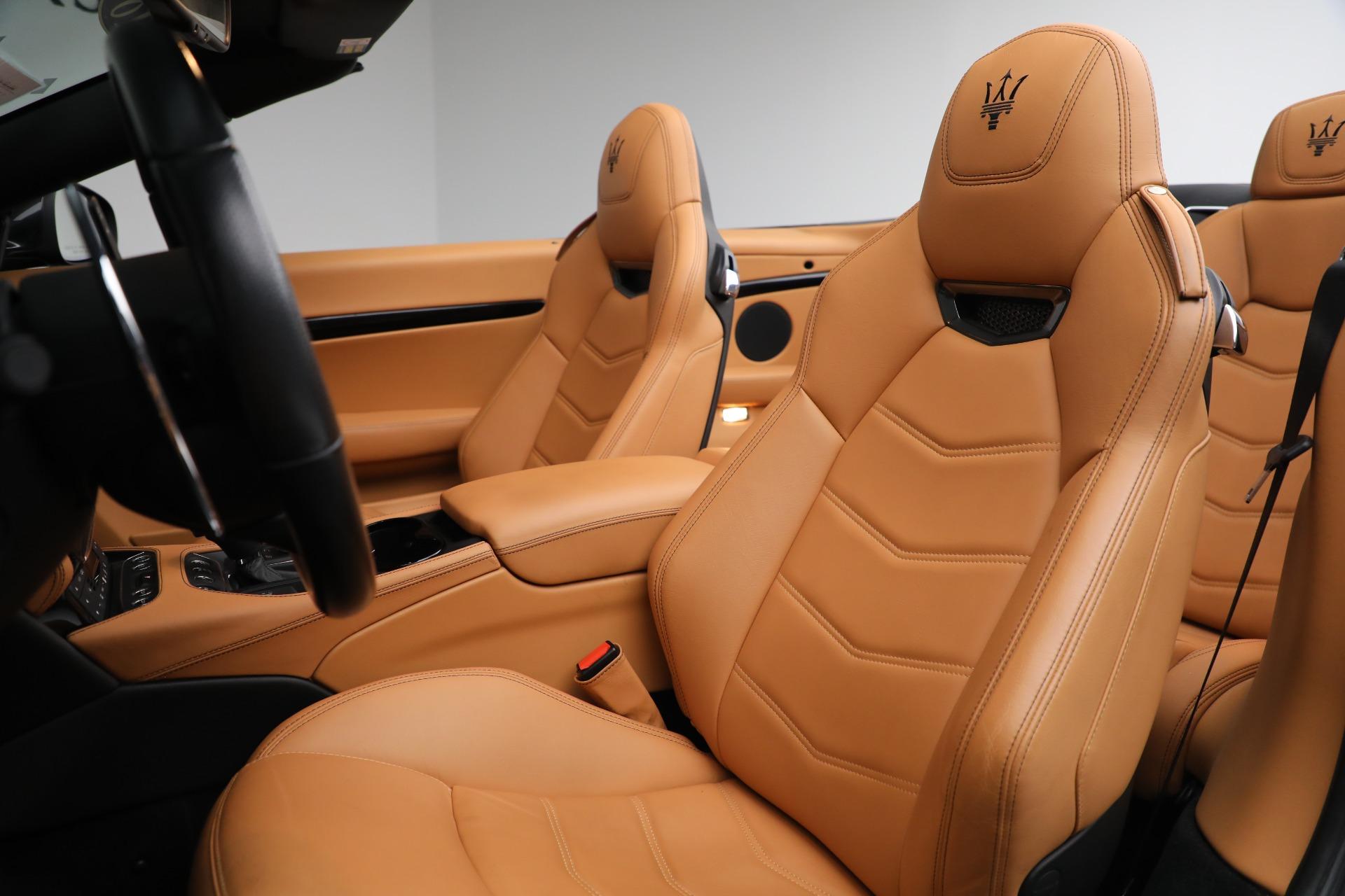 New 2018 Maserati GranTurismo Sport Convertible For Sale In Greenwich, CT 2198_p25