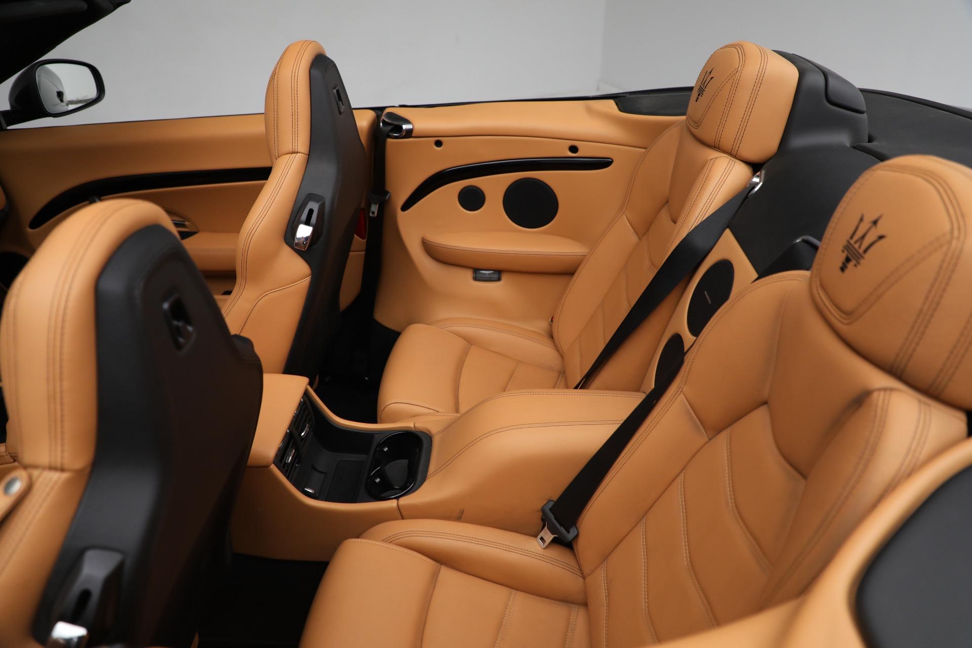 New 2018 Maserati GranTurismo Sport Convertible For Sale In Greenwich, CT 2198_p29