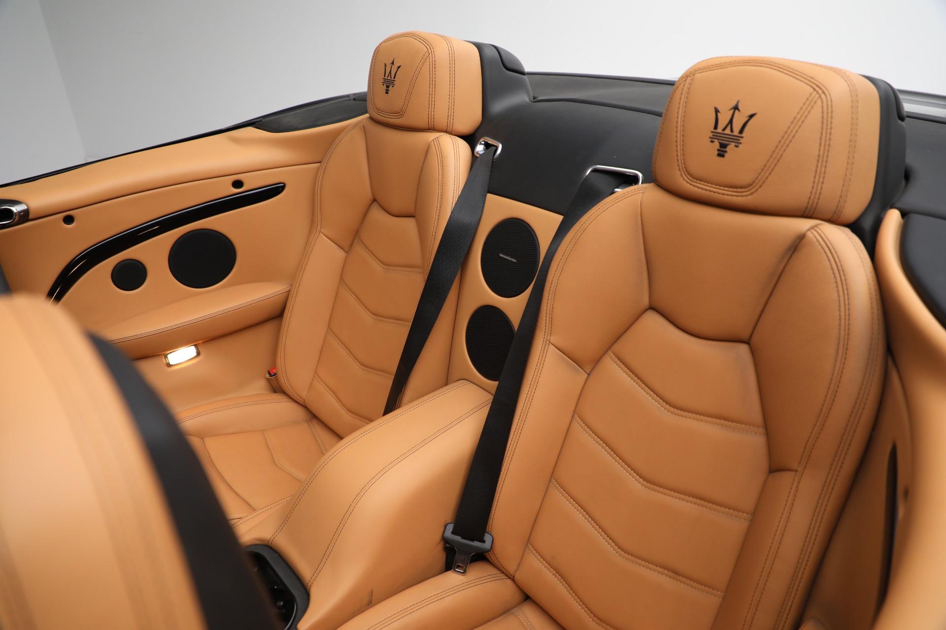 New 2018 Maserati GranTurismo Sport Convertible For Sale In Greenwich, CT 2198_p30