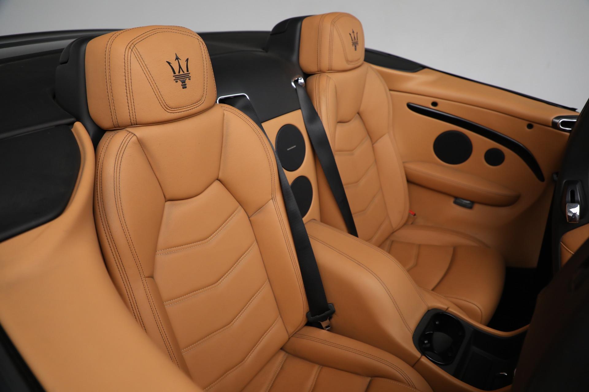New 2018 Maserati GranTurismo Sport Convertible For Sale In Greenwich, CT 2198_p35