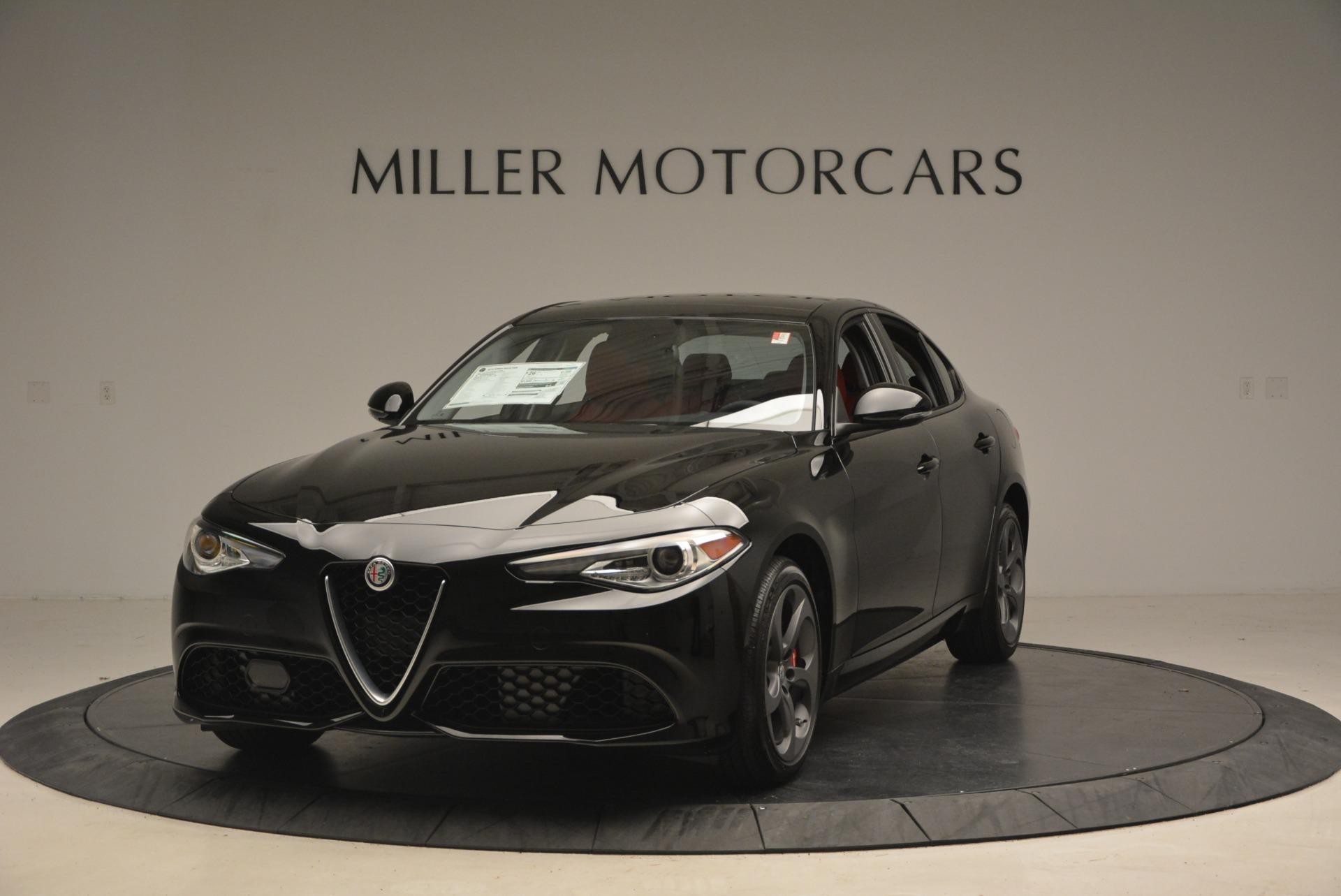 New 2018 Alfa Romeo Giulia Sport Q4 For Sale In Greenwich, CT 2205_main
