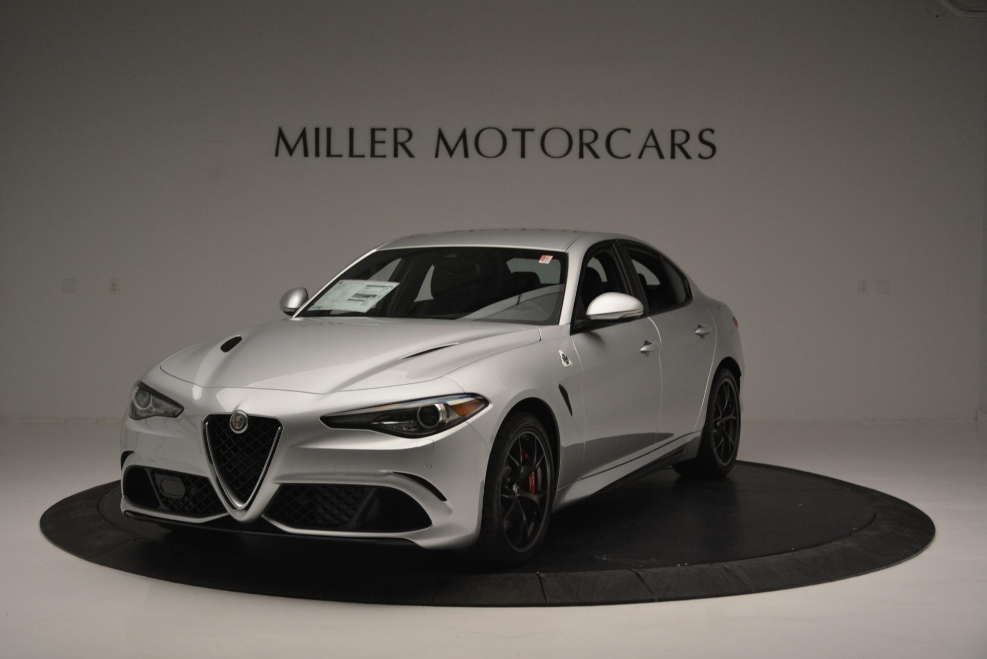 New 2018 Alfa Romeo Giulia Quadrifoglio For Sale In Greenwich, CT 2222_main