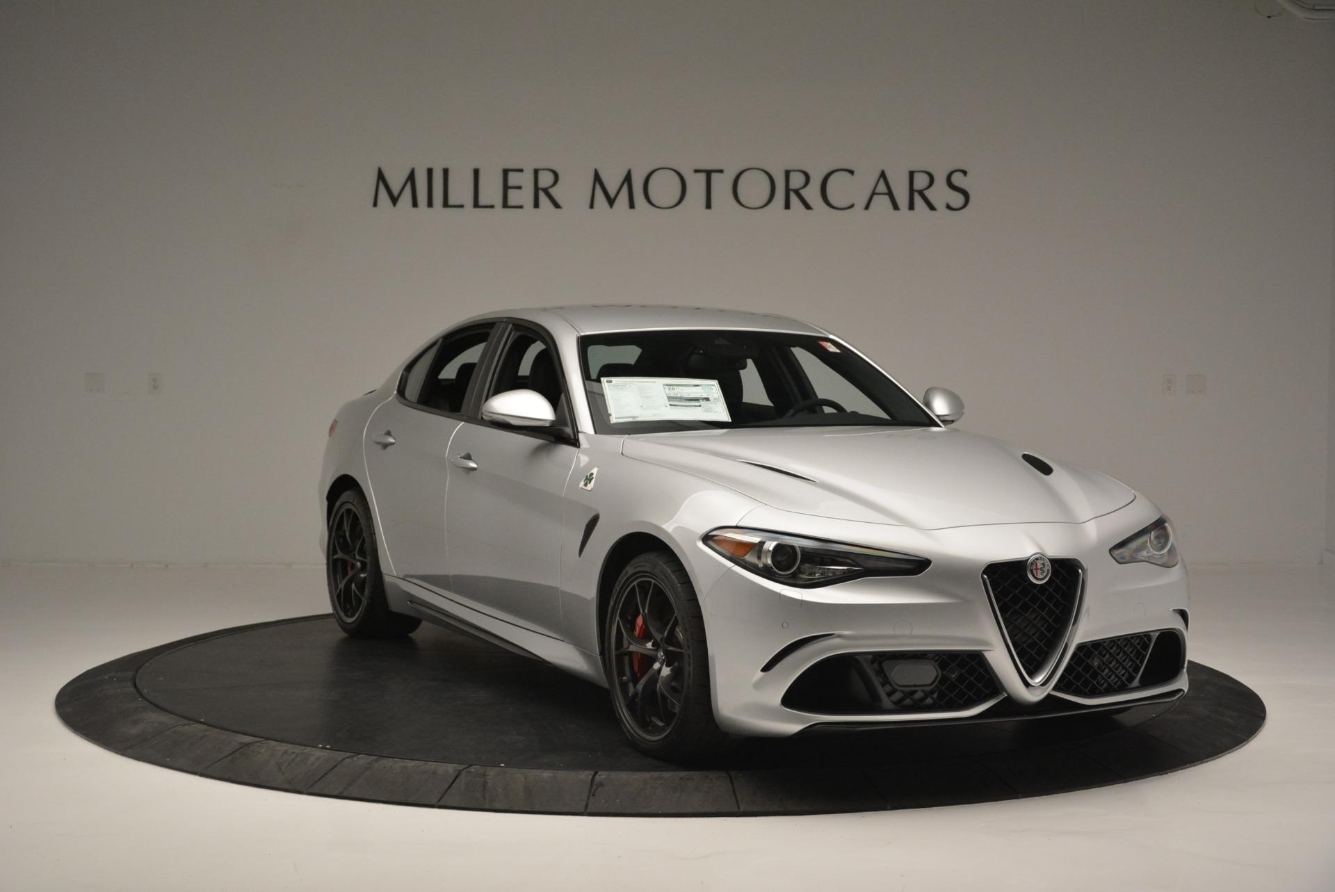New 2018 Alfa Romeo Giulia Quadrifoglio For Sale In Greenwich, CT 2222_p11
